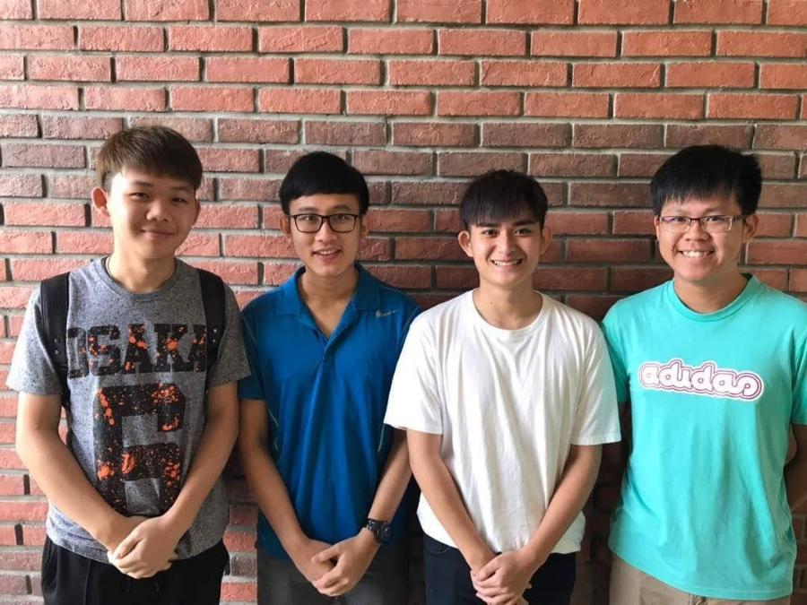 Seahorse Warriors - Samuel Lee Jia Sheng,Tee Yi Kiat,Lim Fong Jie,Voon Khing ShengMalaysia