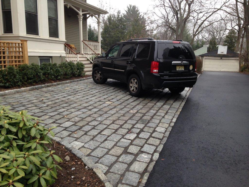 Belgian Block Apron and Asphalt Driveway Contractor in New Jersey
