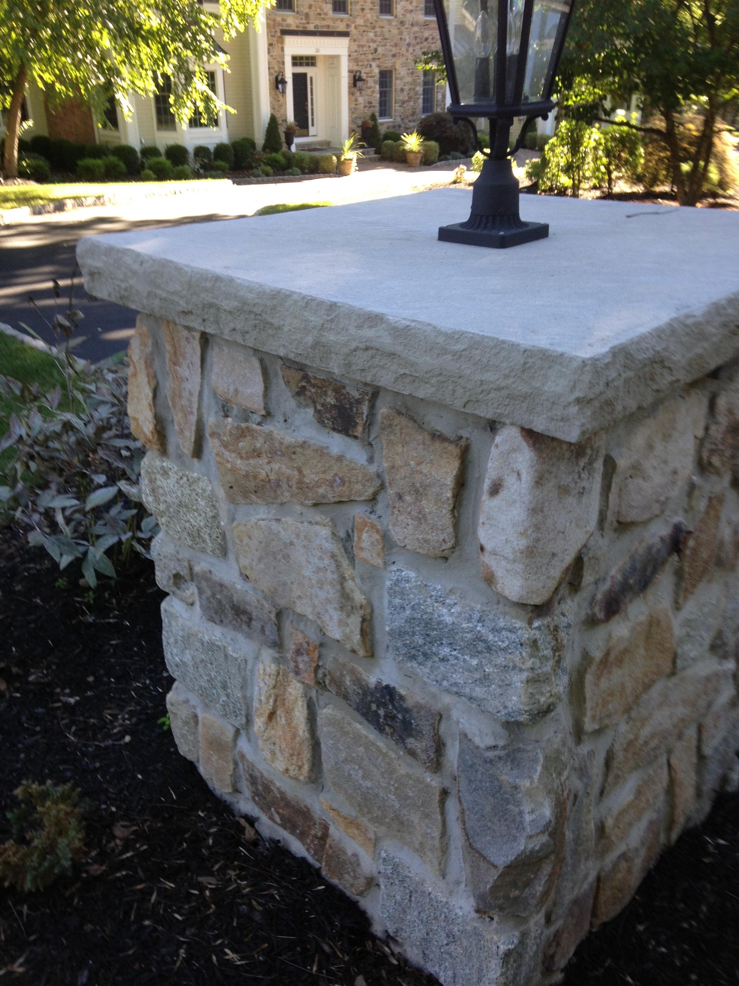 Stone Masonry Piers