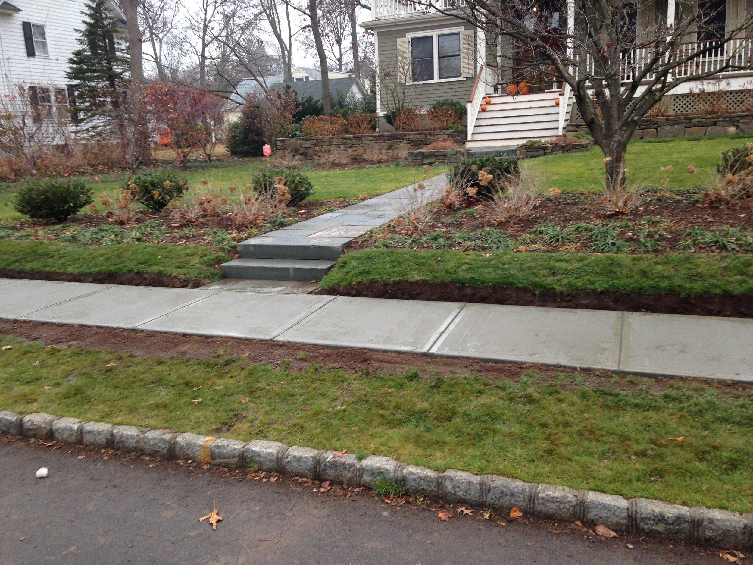 Concrete Walkway Contractor - Westfield NJ