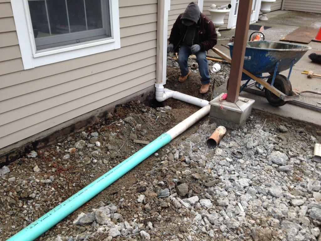 Drainage and Excavation Contractor in Central New Jersey - Lou Porchetta Paving