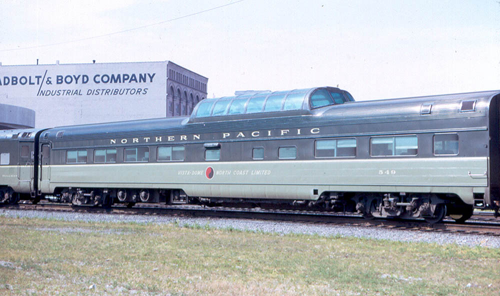 July 1971 in Amtrak service.