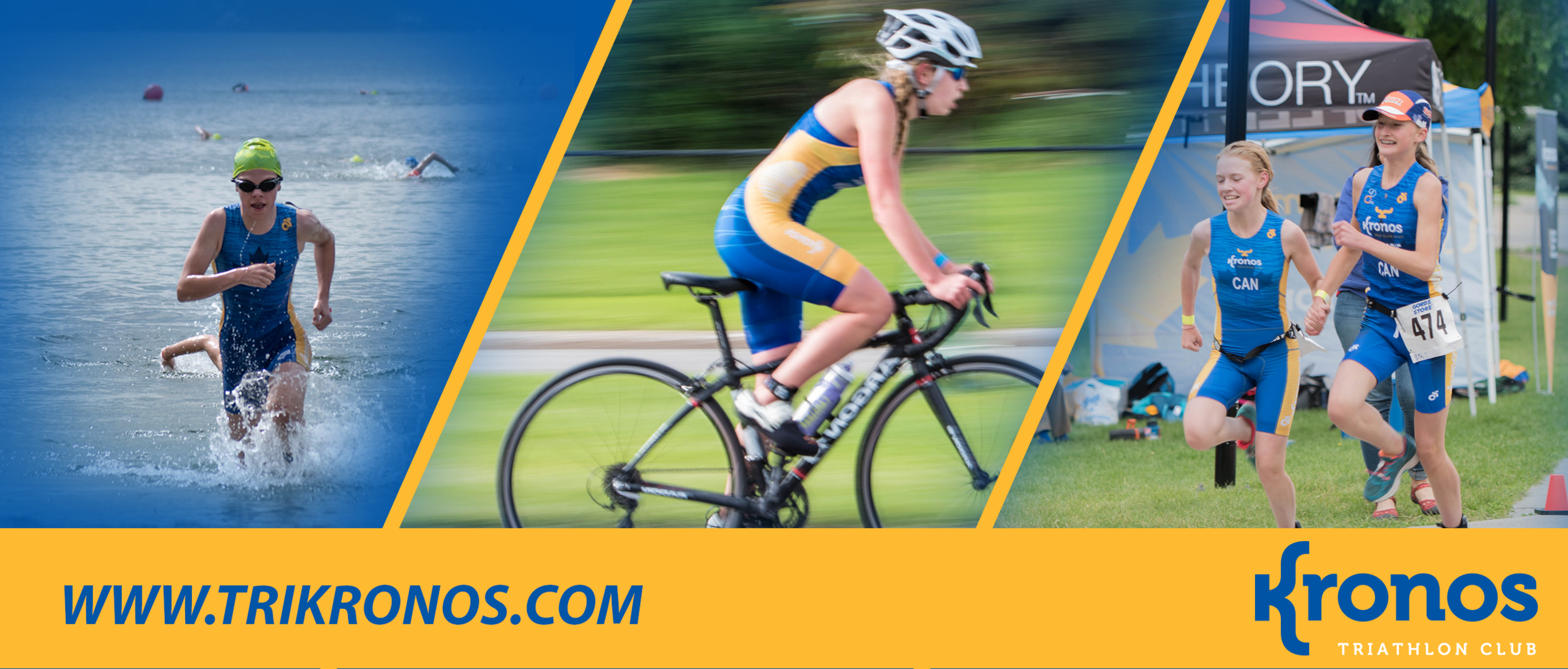 Kronos Triathlon Club offers triathlon training programs for ages 8 - 88. Check out our website for more information!   www.trikronos.com