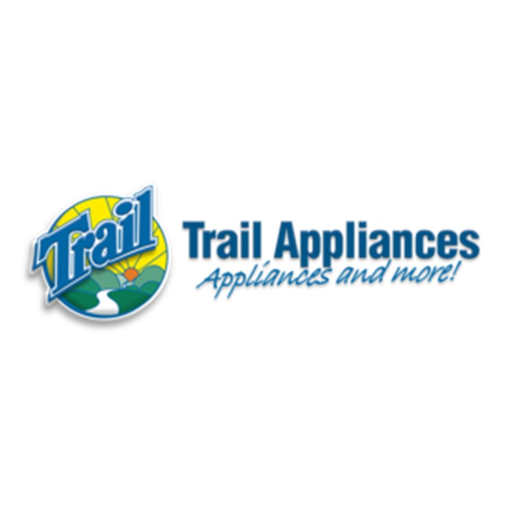 Thank you to Trail Appliances for your cash donation, and for providing our volunteer prizes!