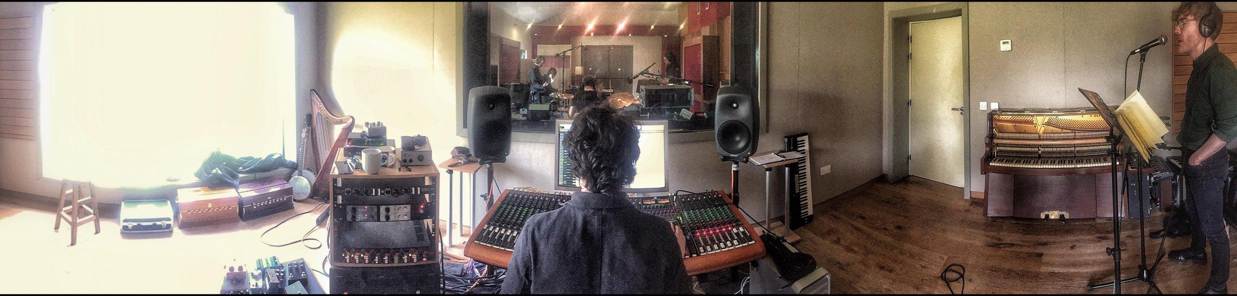Scratch Vocals in the Control Room