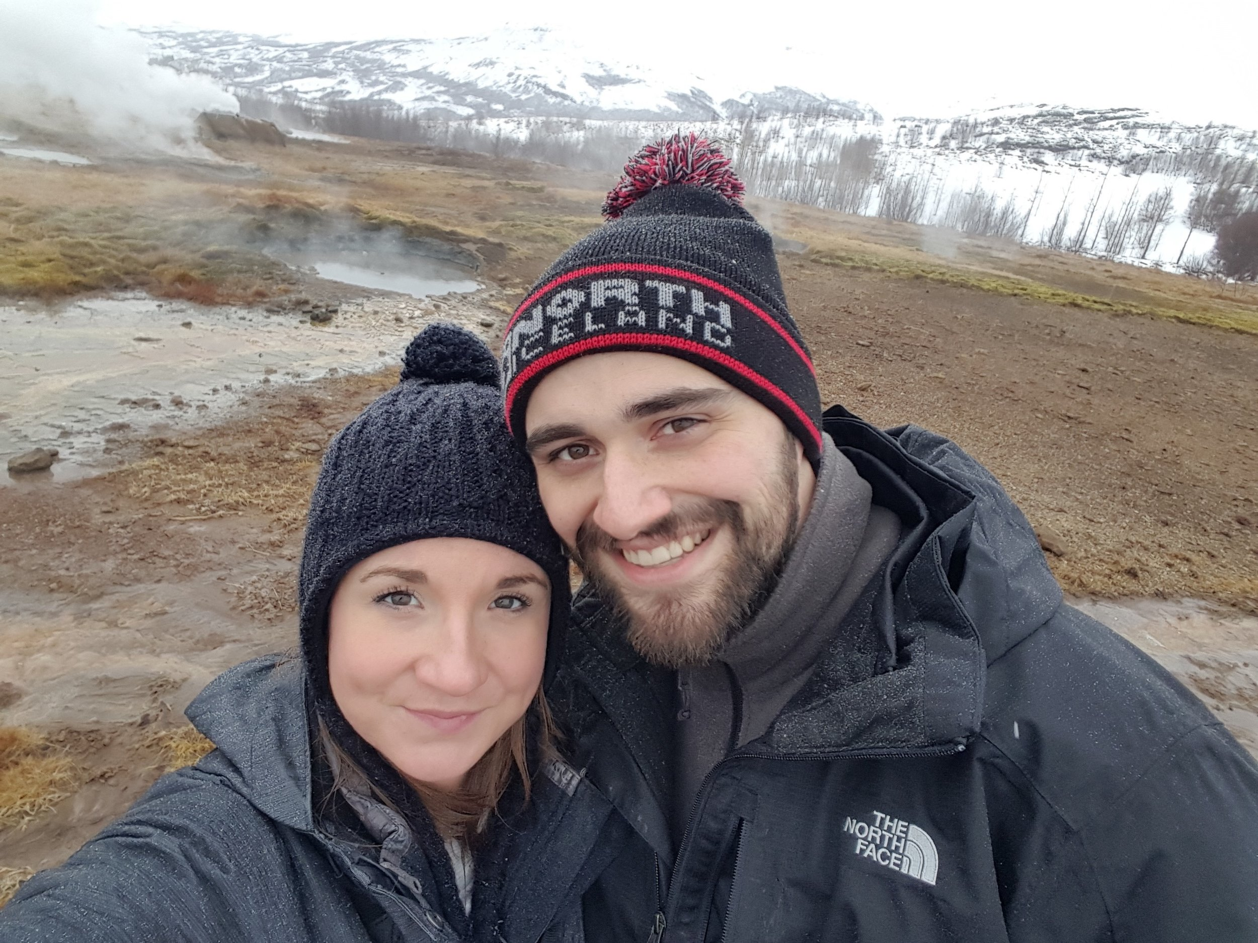 Our First Geysir Picture