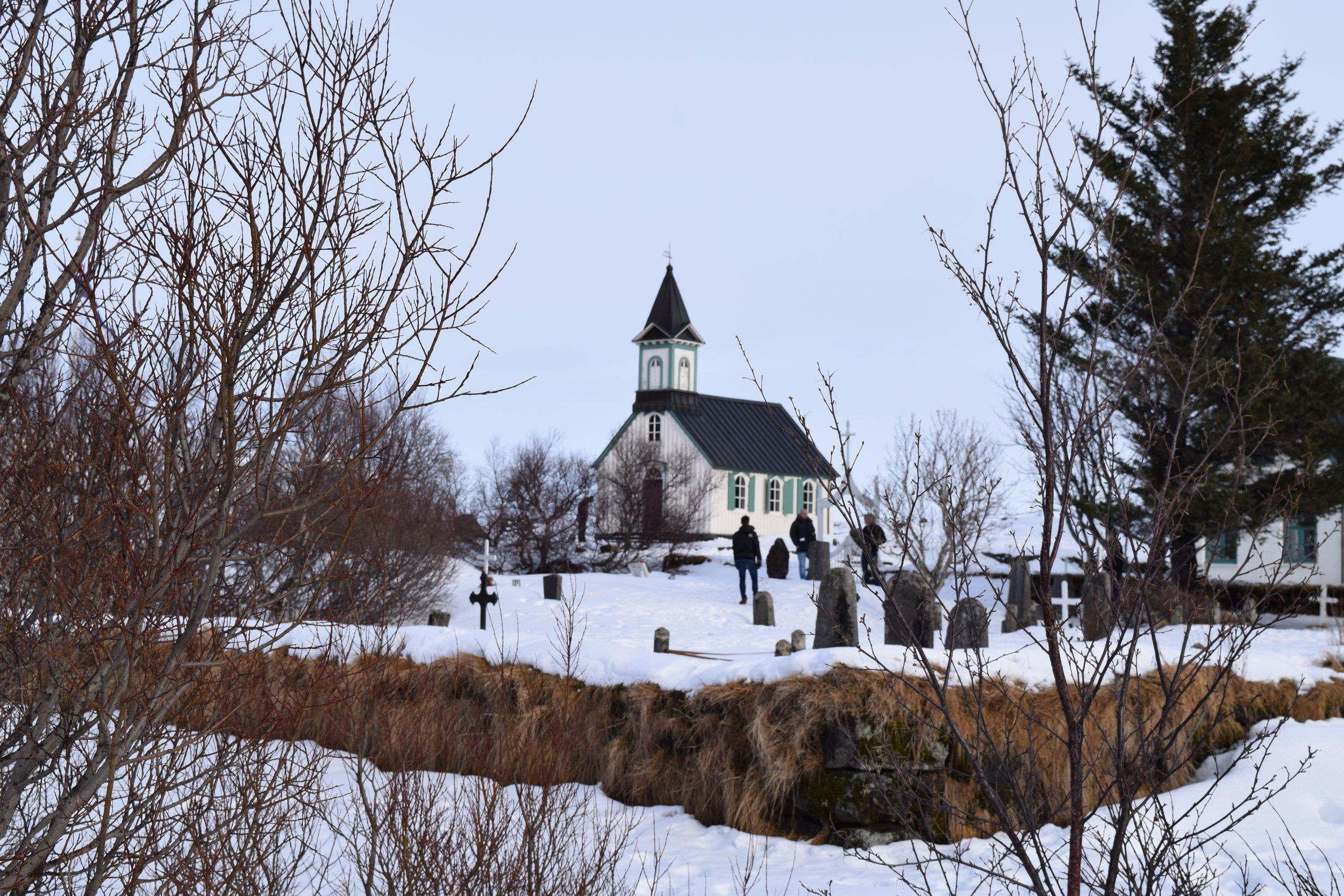 Þingvallakirkja Church @Þingvellir National Park