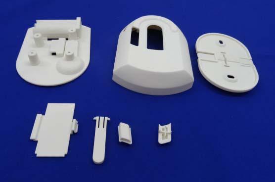 Set of SLS parts in Nylon