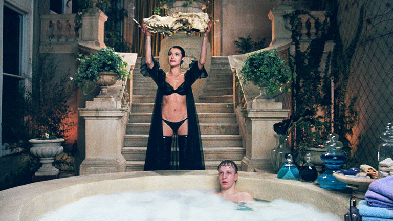 "Amanda Donohoe and Chris Pitt in Ken Russell's ""The Lair of the White Worm"" (1988), which was directly influenced by the darkly magical work of Michael Reeves. Credit Lionsgate Home Entertainment"