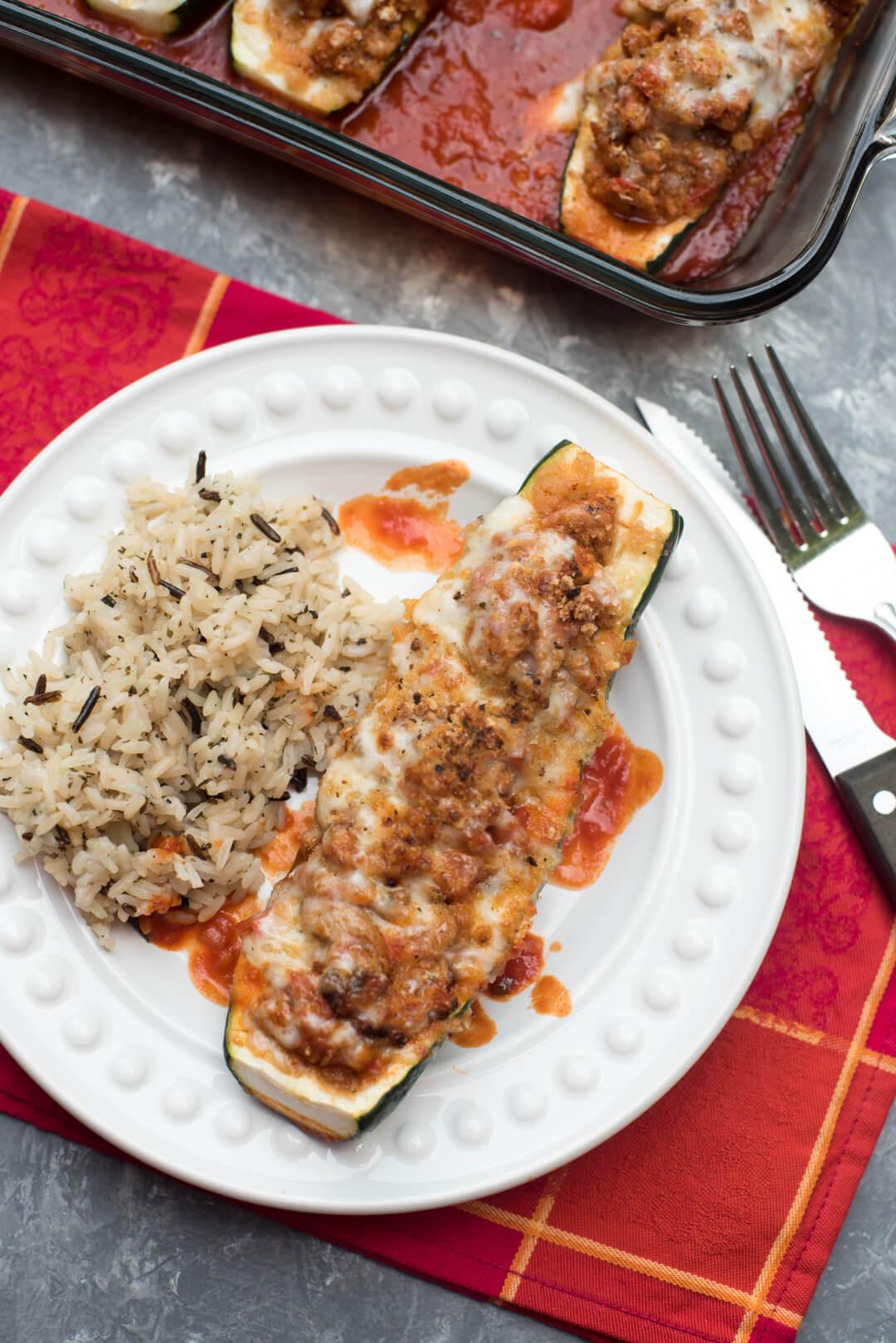 Leonora's favorite recipe, or should I say my favorite recipe that she made, was Zucchine Ripena or Stuffed Zucchini - Delizioso!