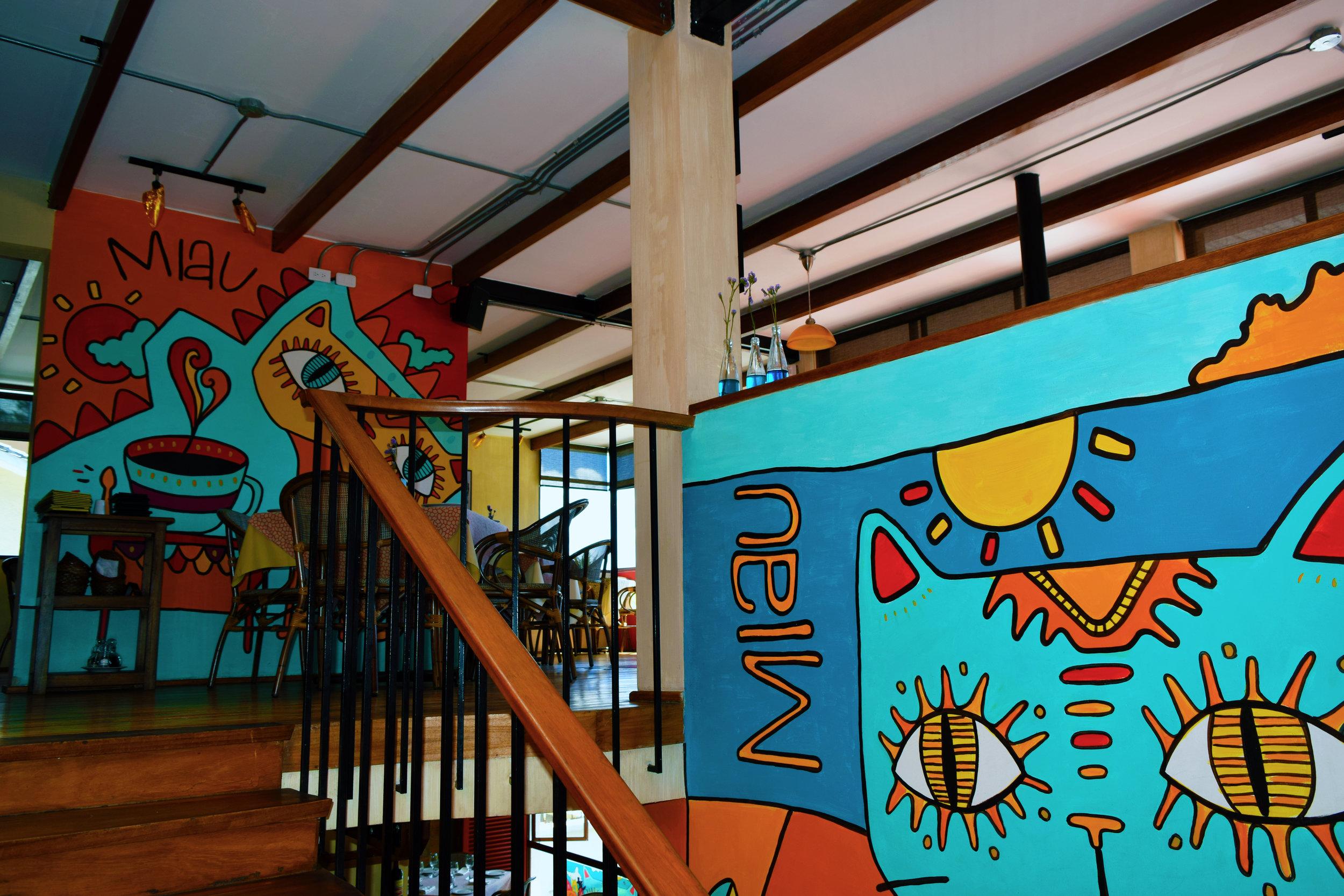 Cats Restaurante. Quito, Ecuador.