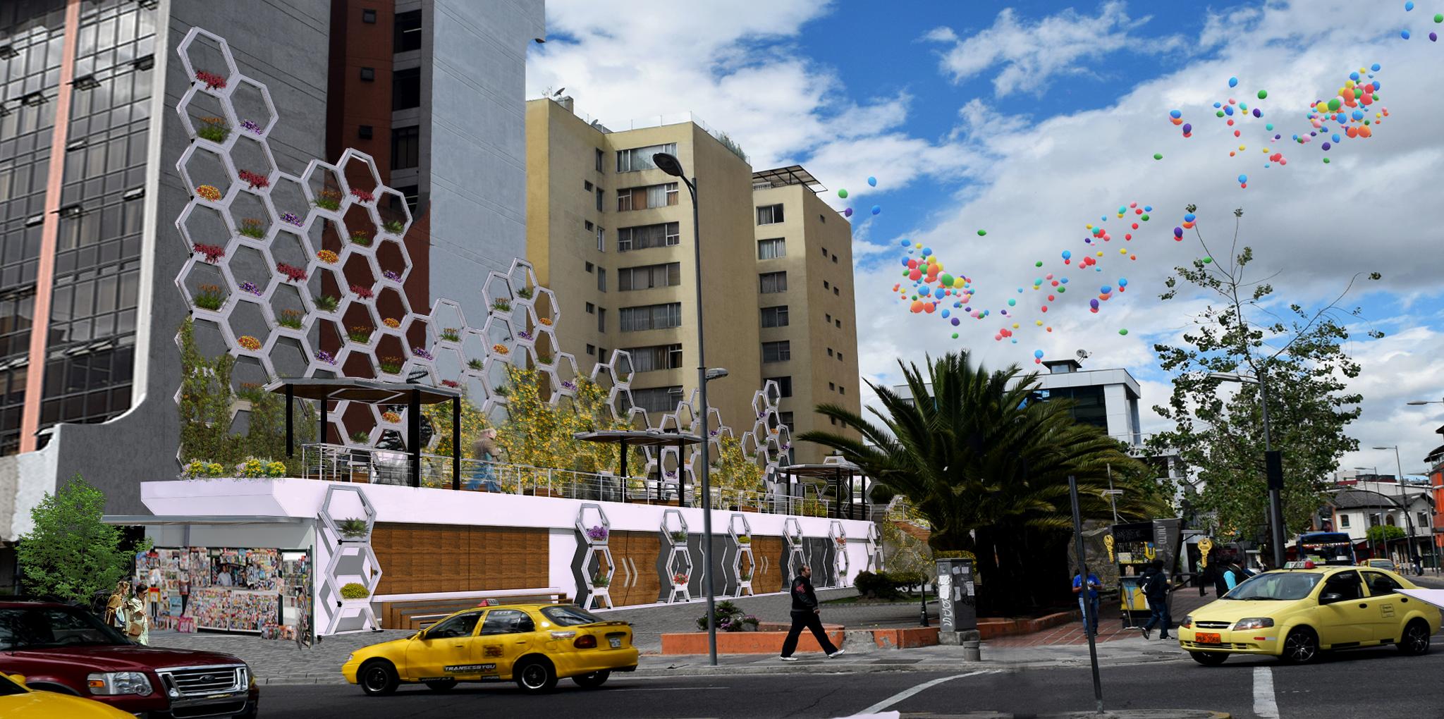 Plaza de la Cultura, Ministerio de Cultura. Quito, Ecuador.