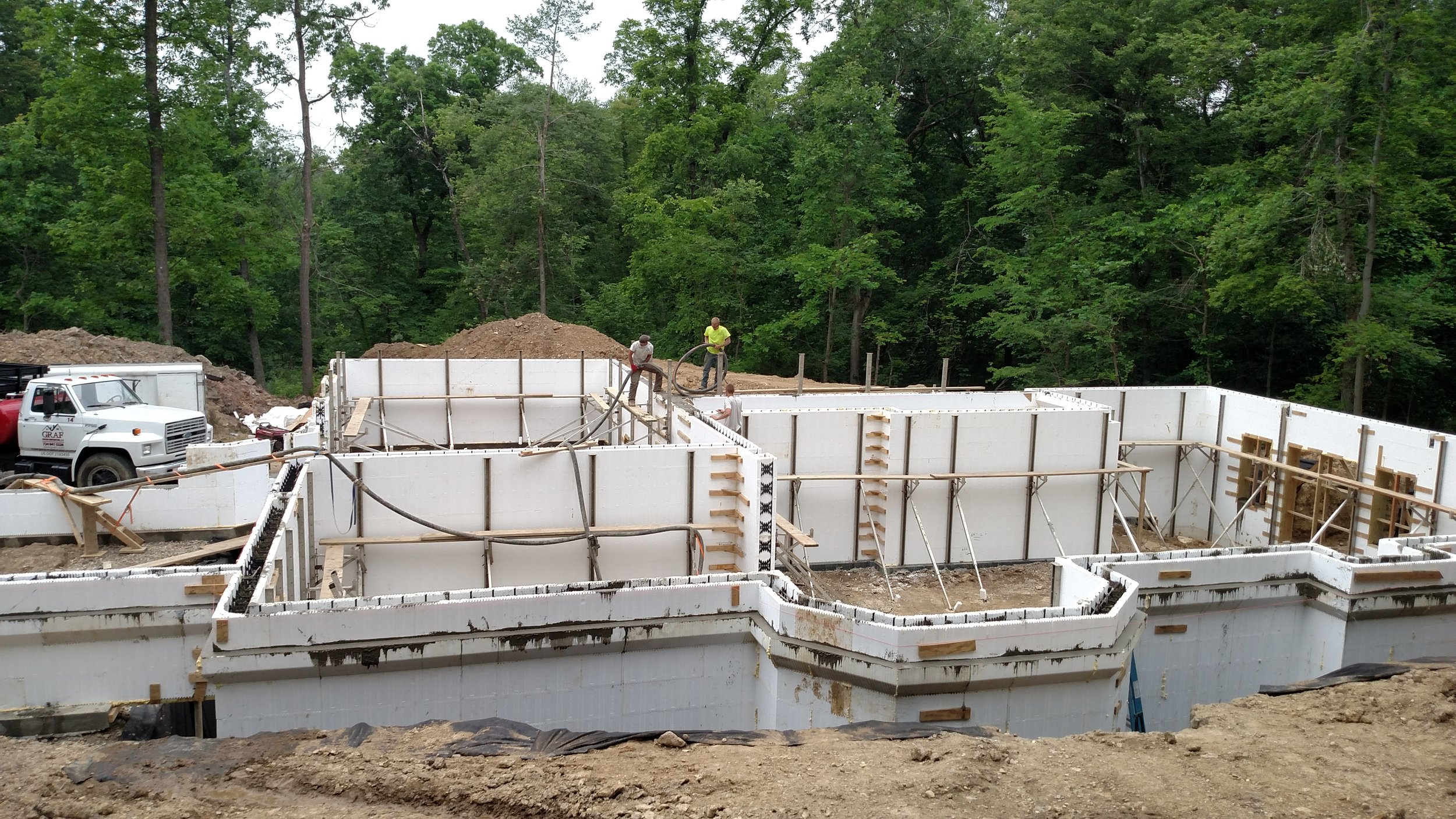 Insulated Concrete Formed Walls