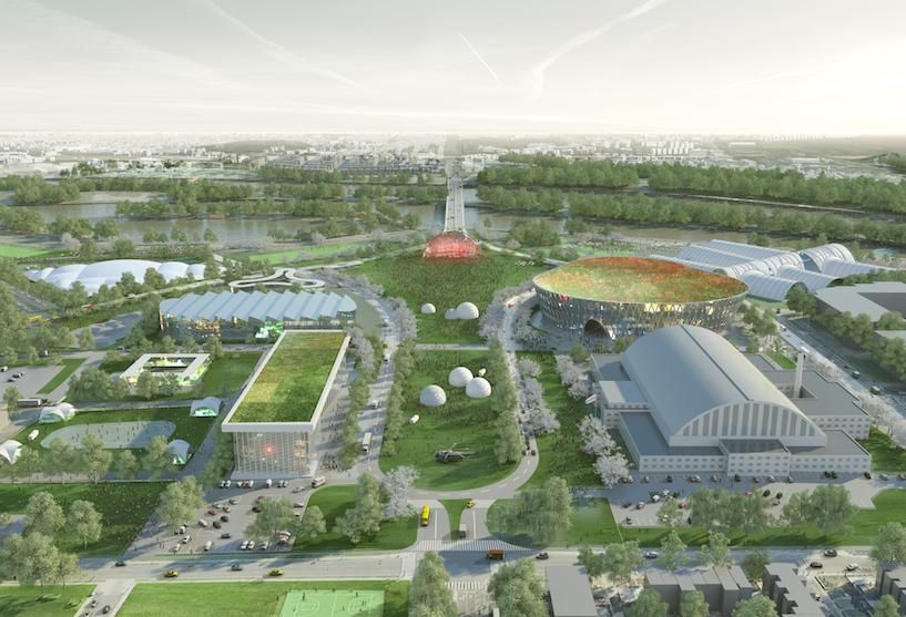 Various proposals for the RFK campus by EventsDC. IMAGE: rfkcampusfuture.com