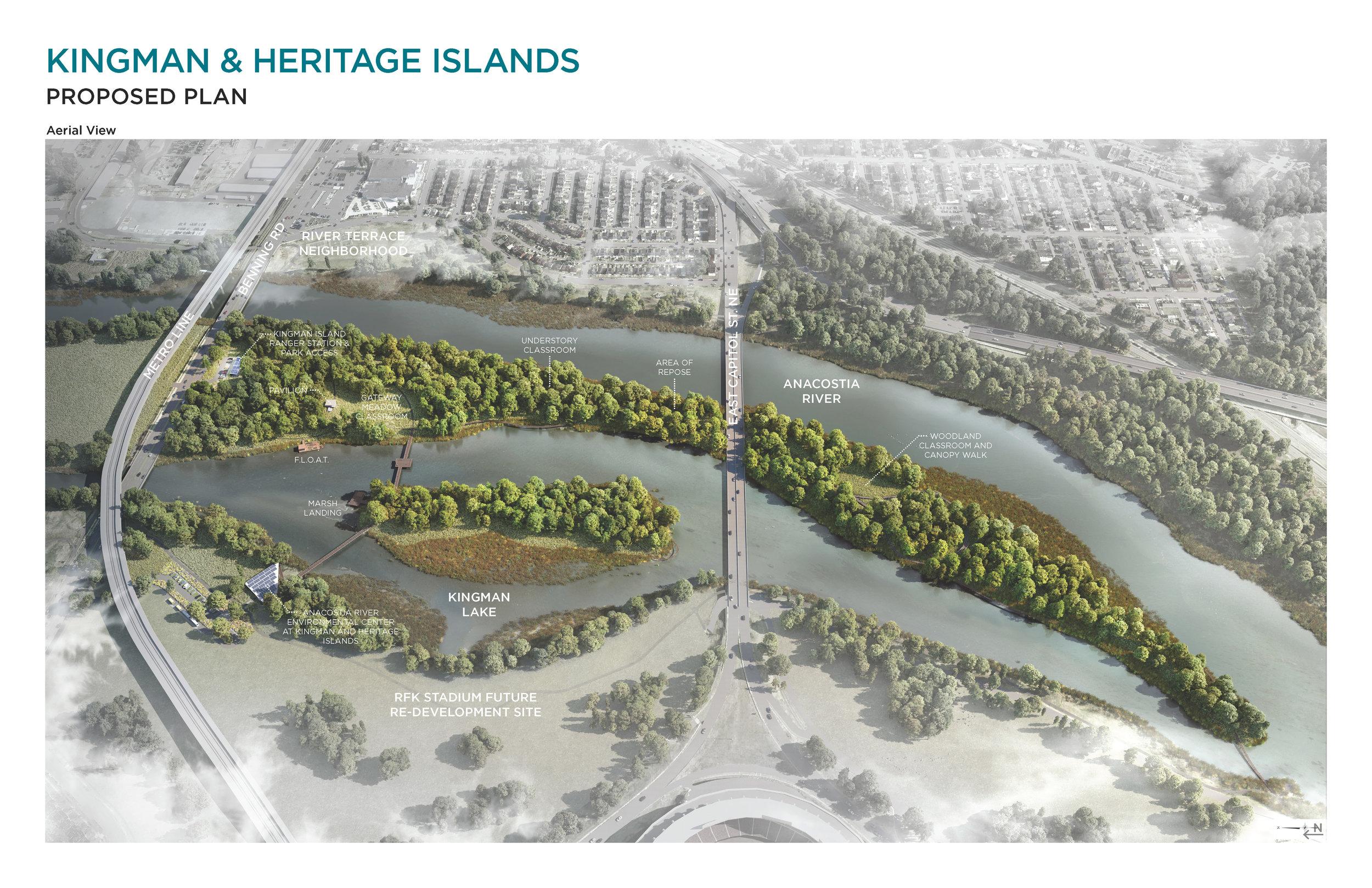 Image taken from DOEE's 2017  Kingman Island & Heritage Island Planning & Feasibility Study