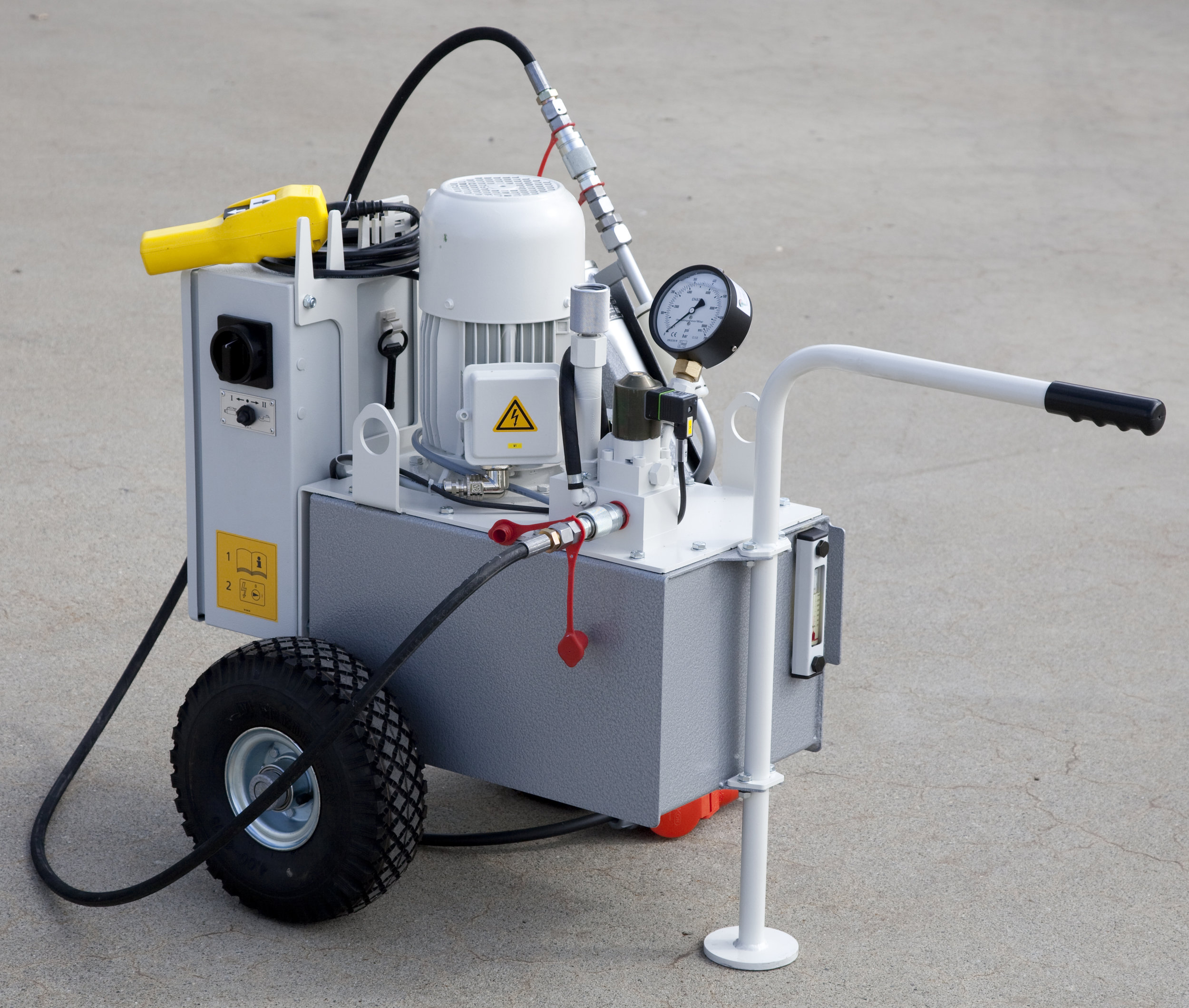 NG-30 Pump unit suitable for 16 and 20 Ton. Mini-Jack