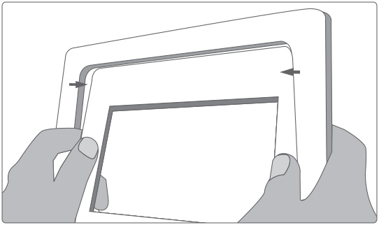 How-To diagram for frame assembly - I-MATE & A Living Picture