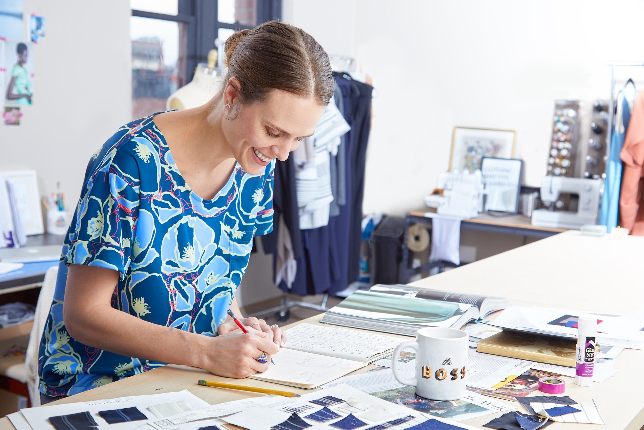 Rebekah Adams of Poppyseed Clothing