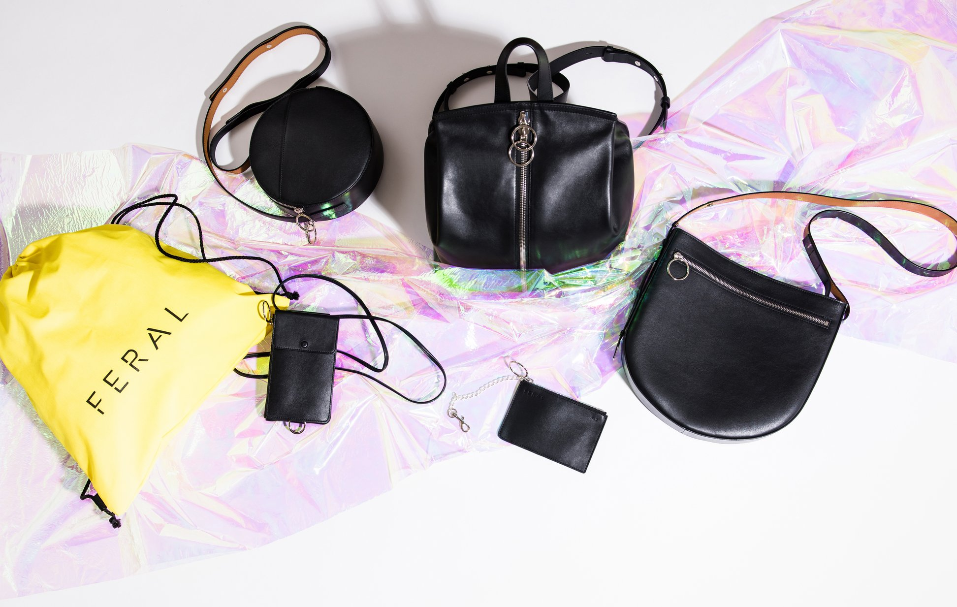 FERAL: Designer hand bags - Find them online and at Clementines in Seattle's Pioneer Square.