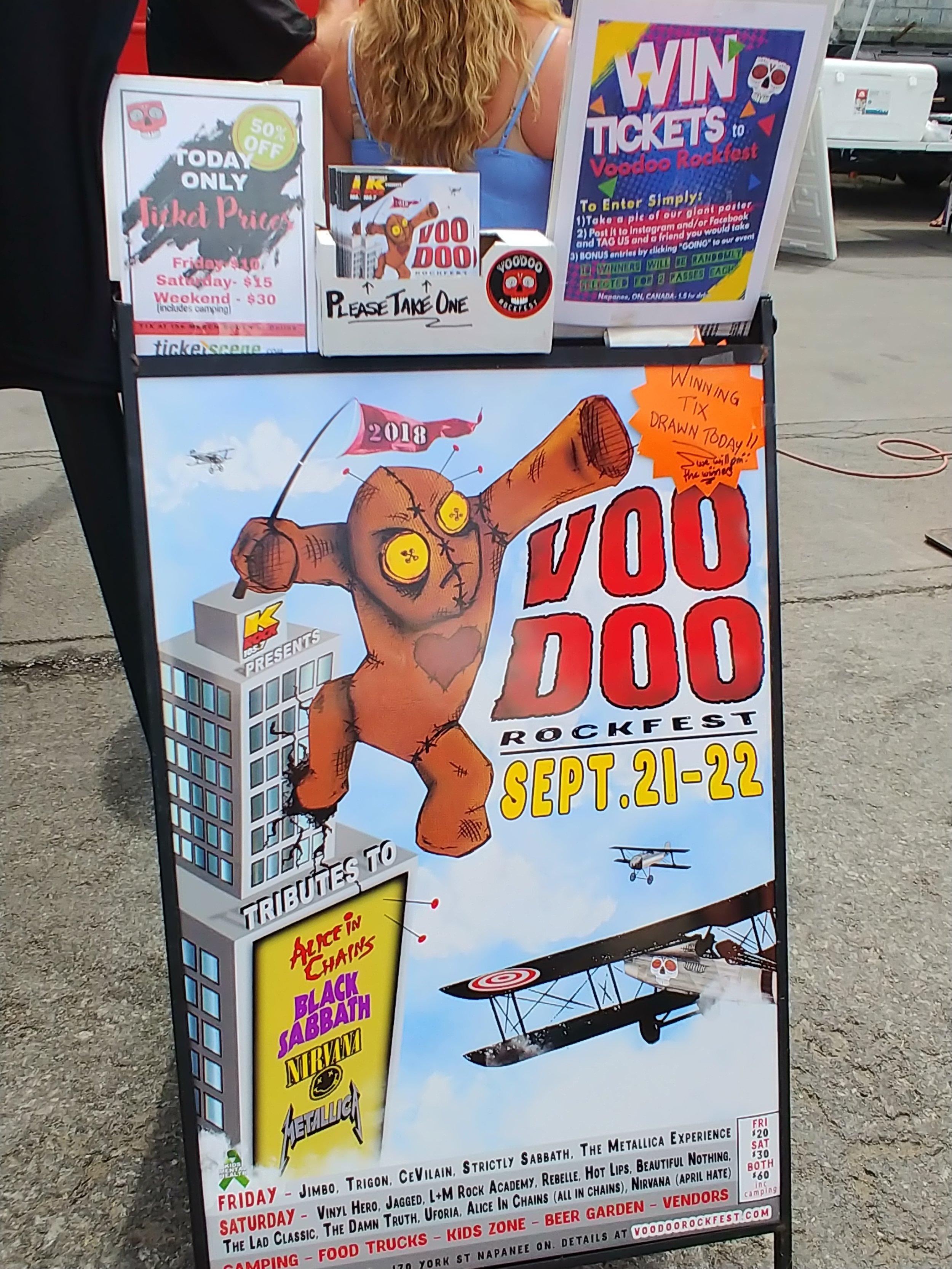 VOODOO - Concert Promoter