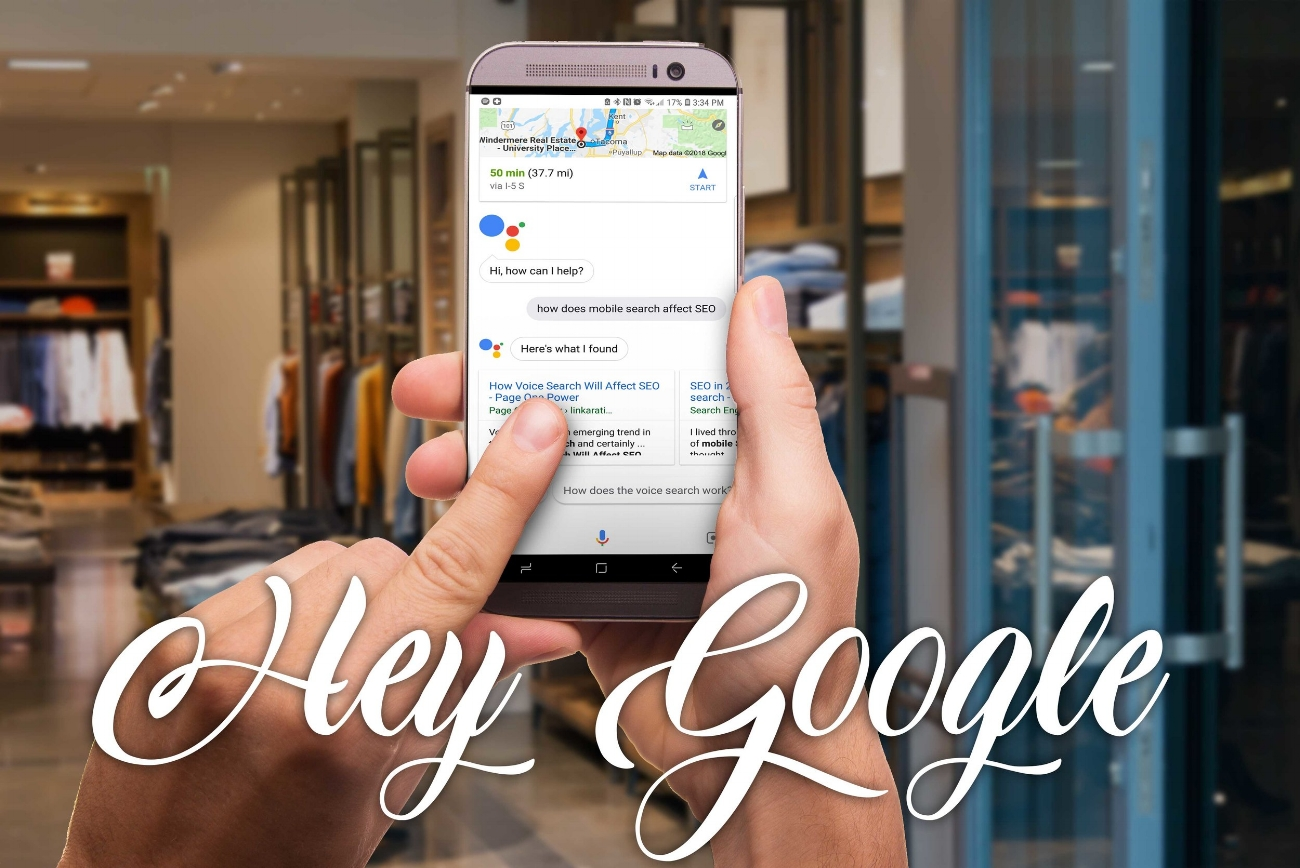 Hey Google - How does search change with voice text?