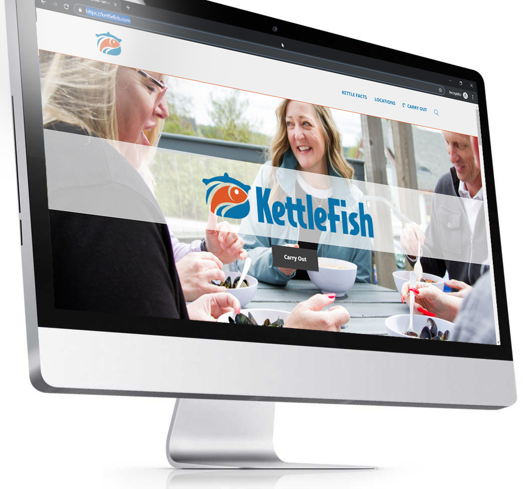 KETTLEFISH - SERVICES: Website & ConsultingSeafood Restaurant