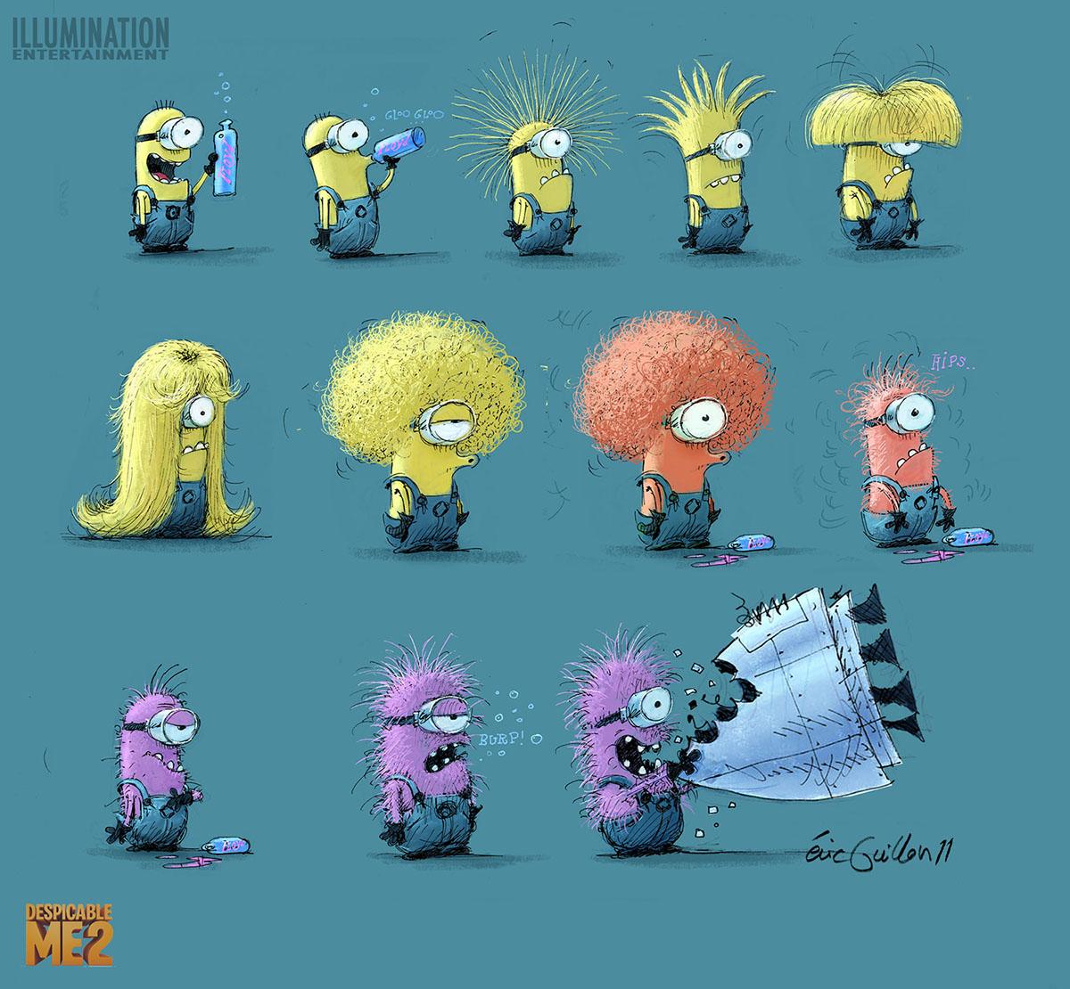 Minion Concept Art