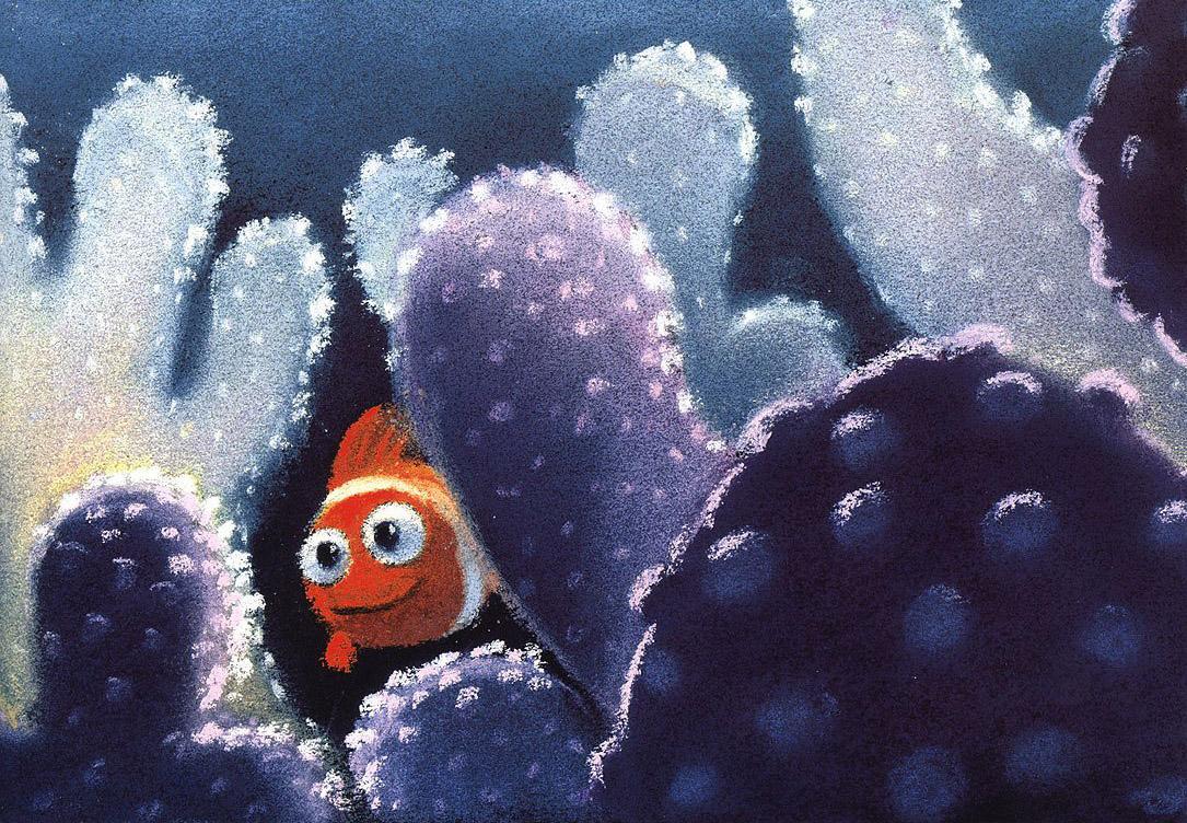 Finding Nemo Concept Art