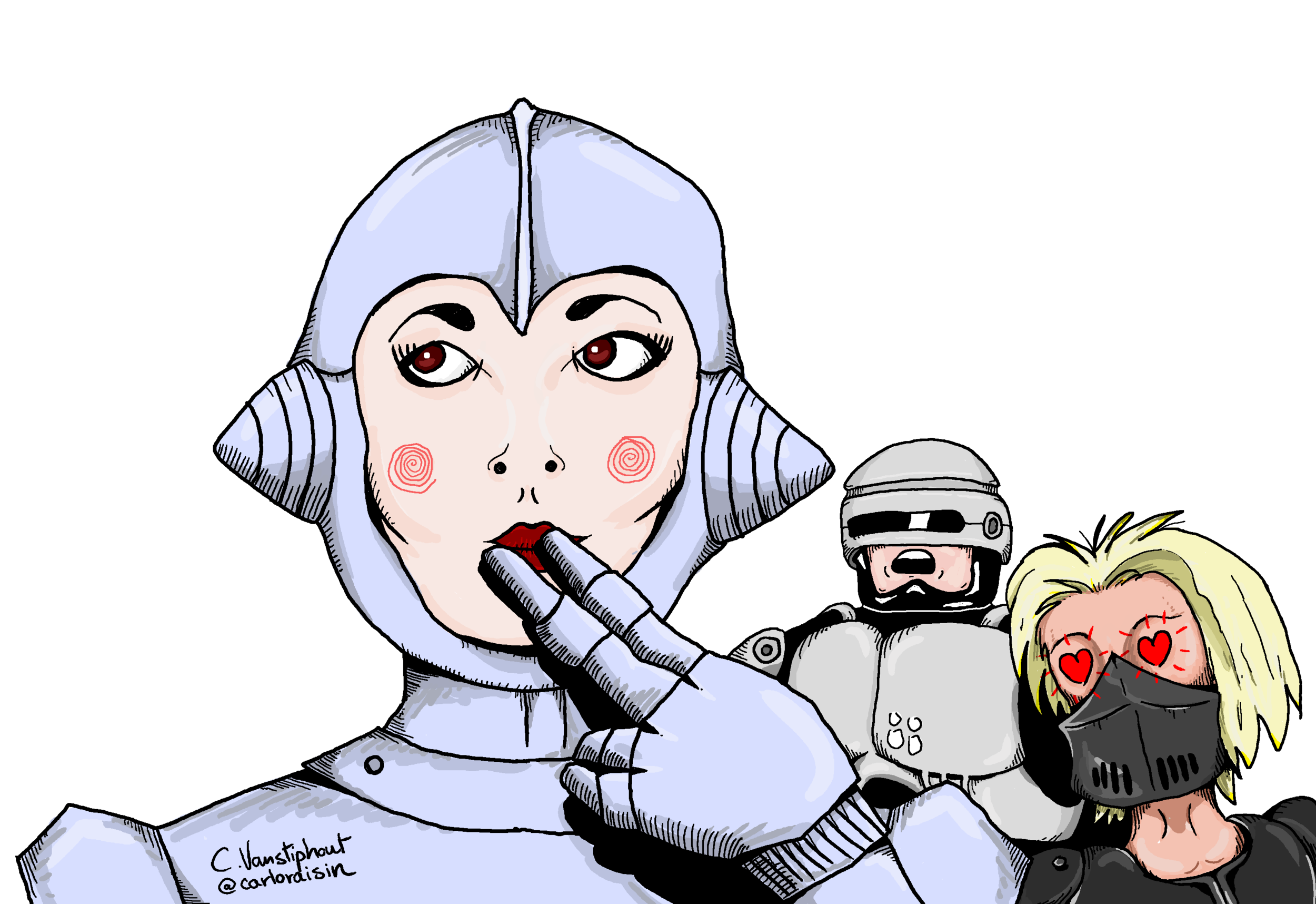 Female RoboCop Rip-offs - Get niche with Carlo as he highlights female RoboCop rip-offs. (Yes, that is totally a thing).