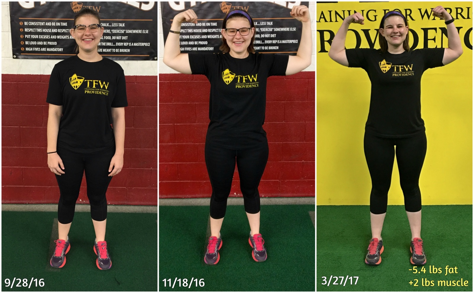Since 3-27-17 down another -2.8 lbs. fat and up +1.7 lbs. of muscle.