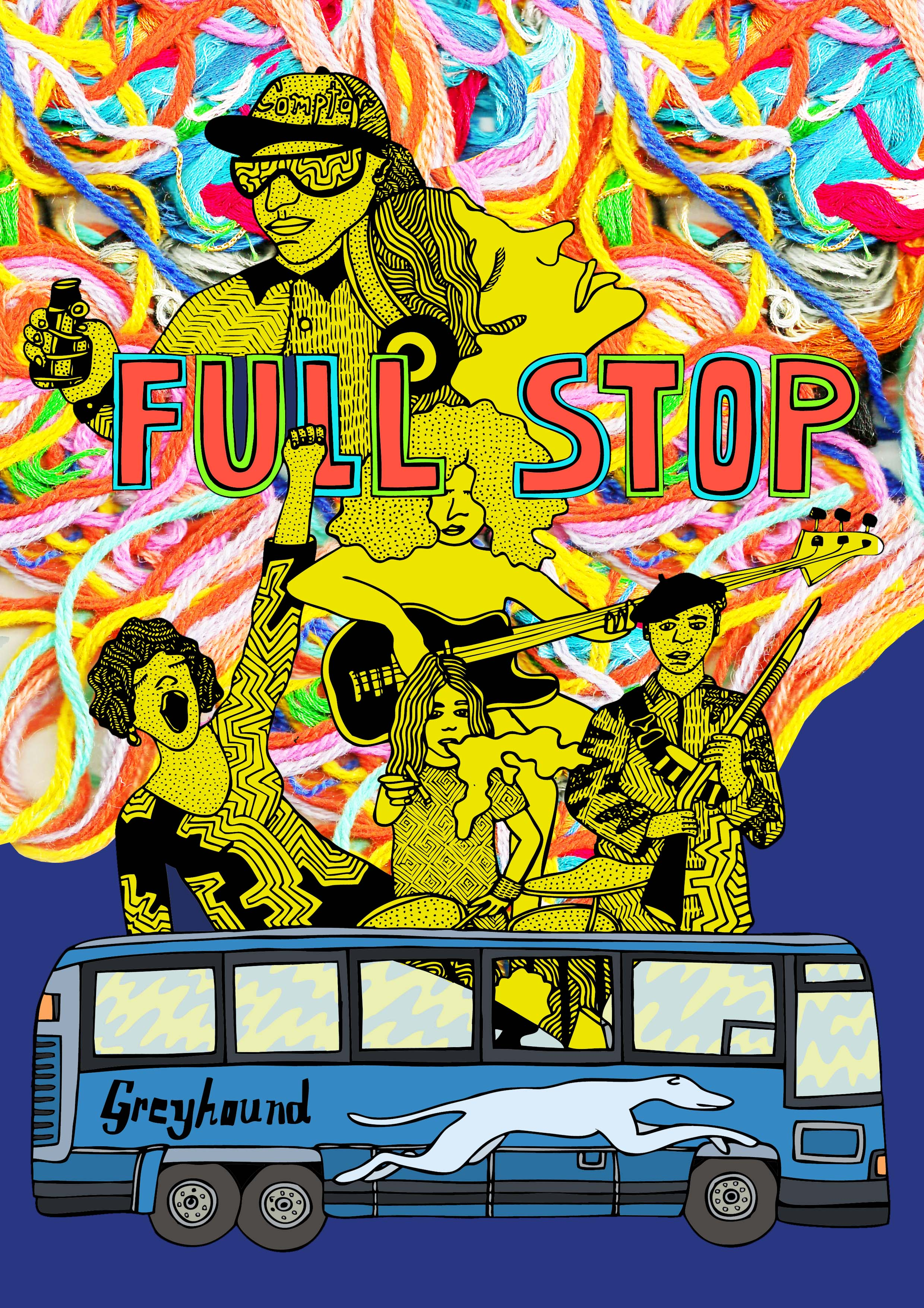 Cover for a  Full Stop  Quarterly.