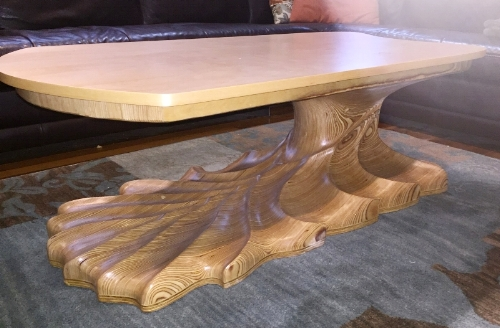 CARVED COFFEE TABLE 1