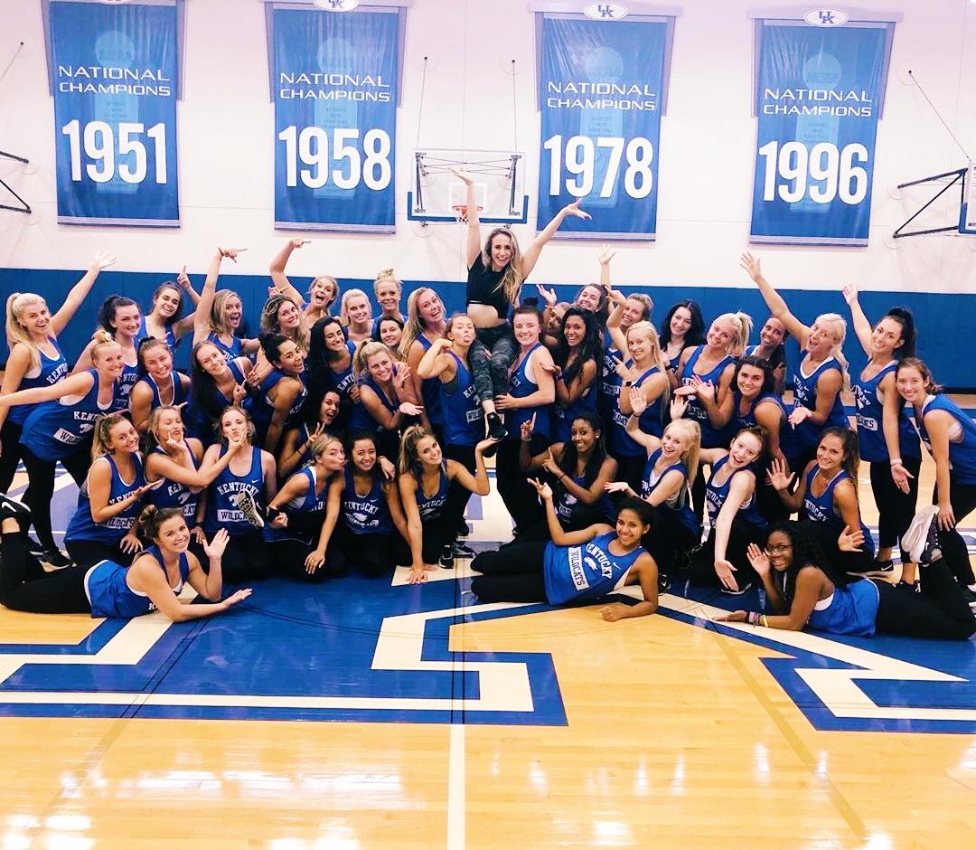 University of Kentucky Dance Team 2019
