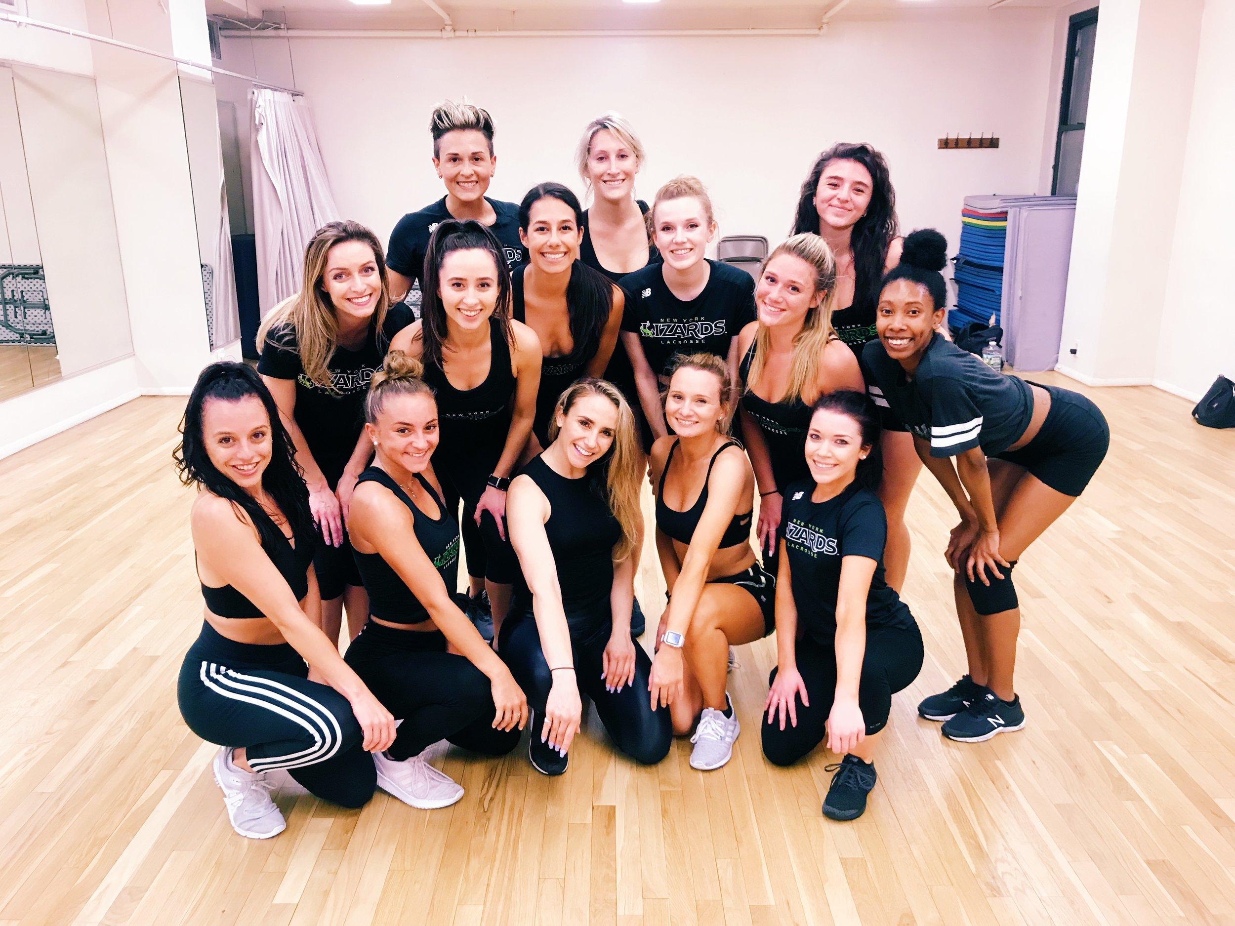 New York Lizards Professional Dance Team