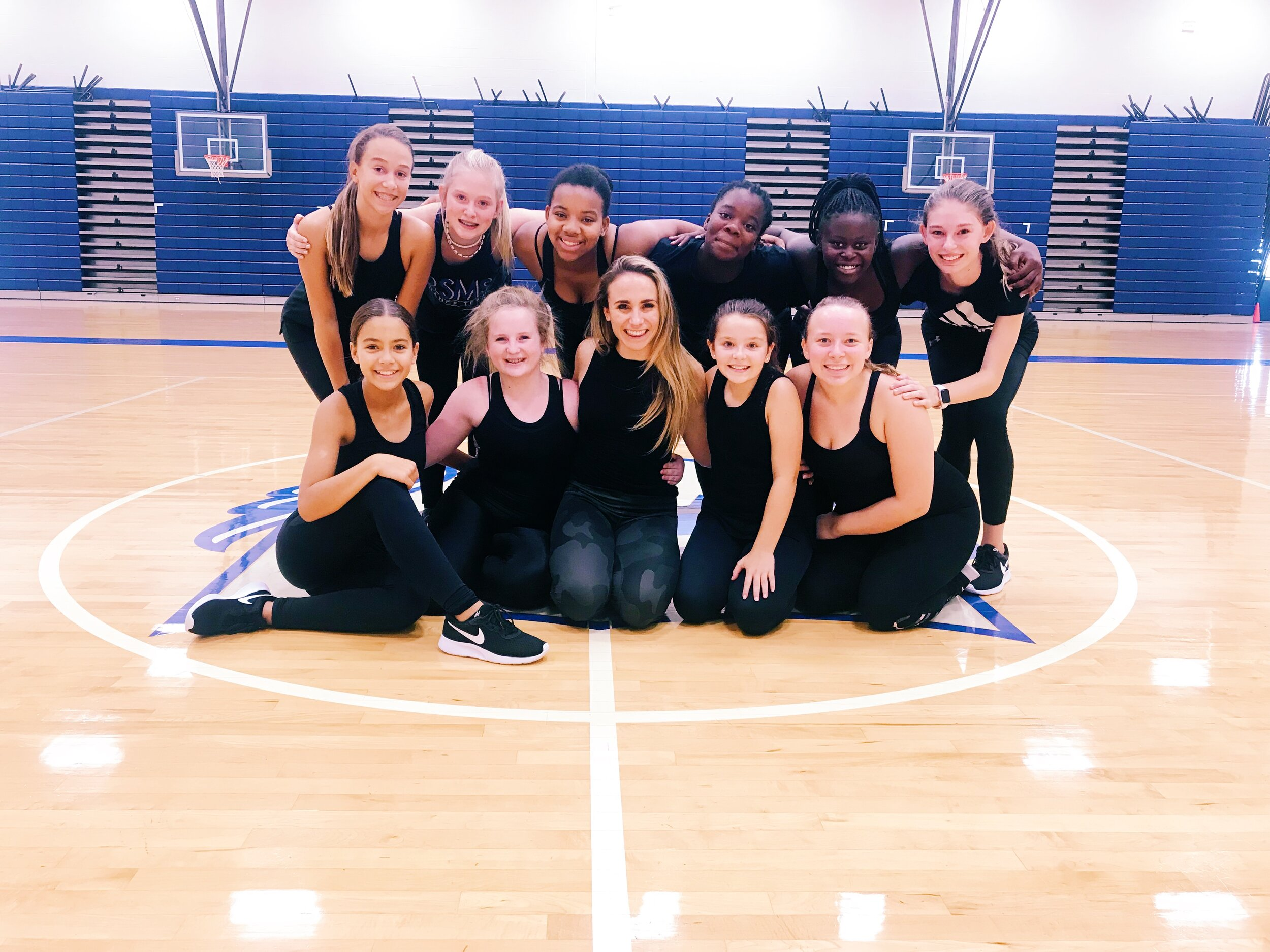 Royal Spring Middle School Dance Team