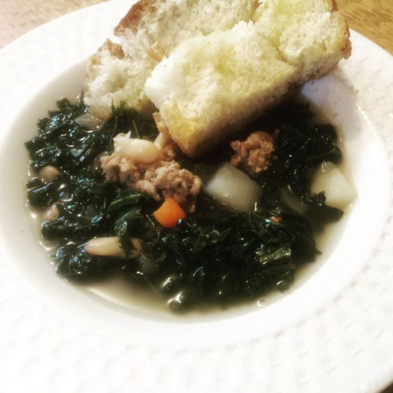 Kale, Bean & Potato Soup