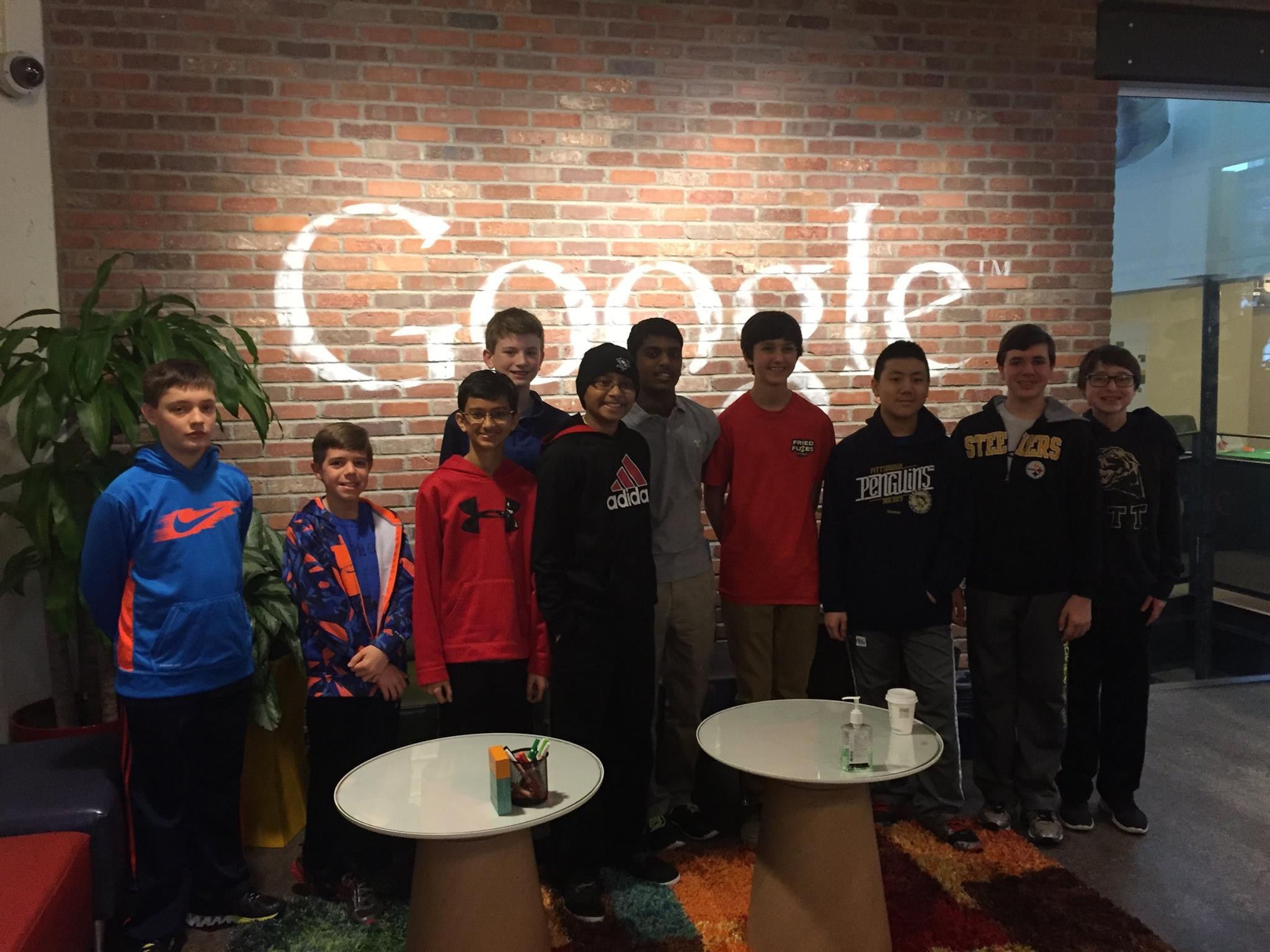 Touring Google and meeting with engineers to discuss innovation