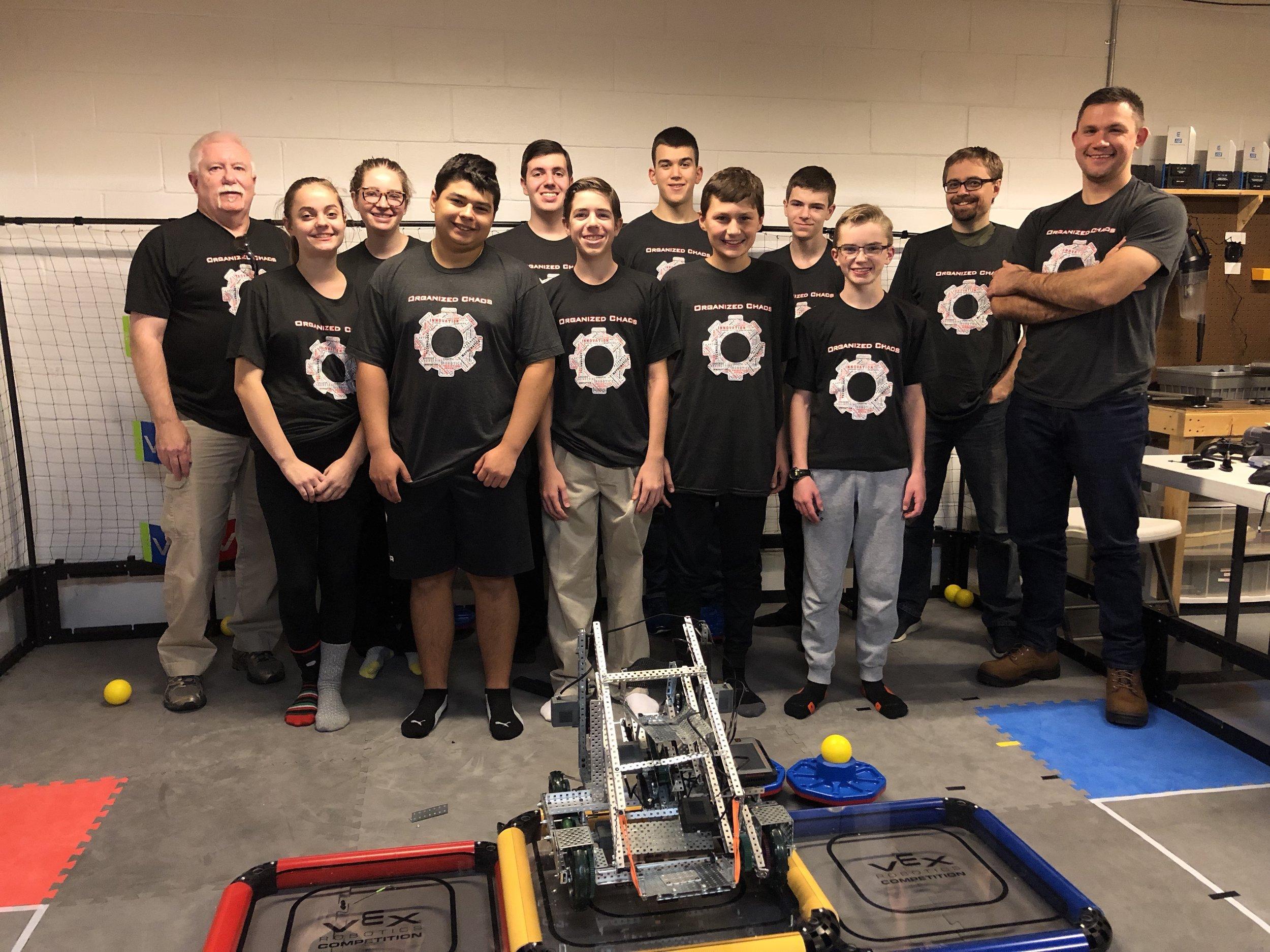 VEX VRC 2019 Team (15241-A) -
