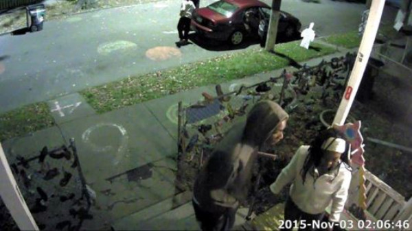 Video footage from the Number House break-in on Nov. 3rd can be found  here.