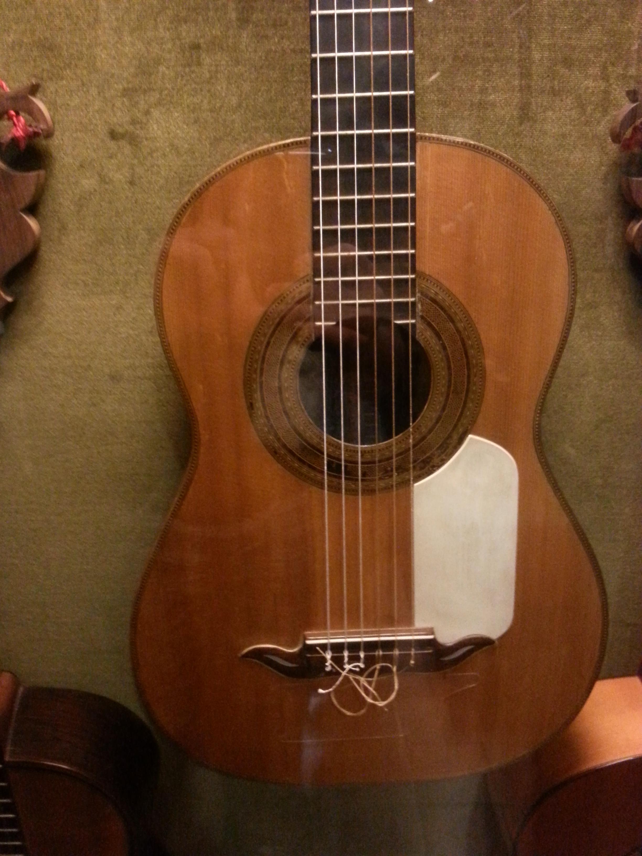 The Antonio de Torres guitar FE 01