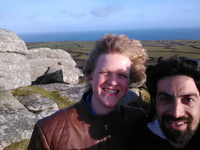 A walk with Graham on my Birthday.