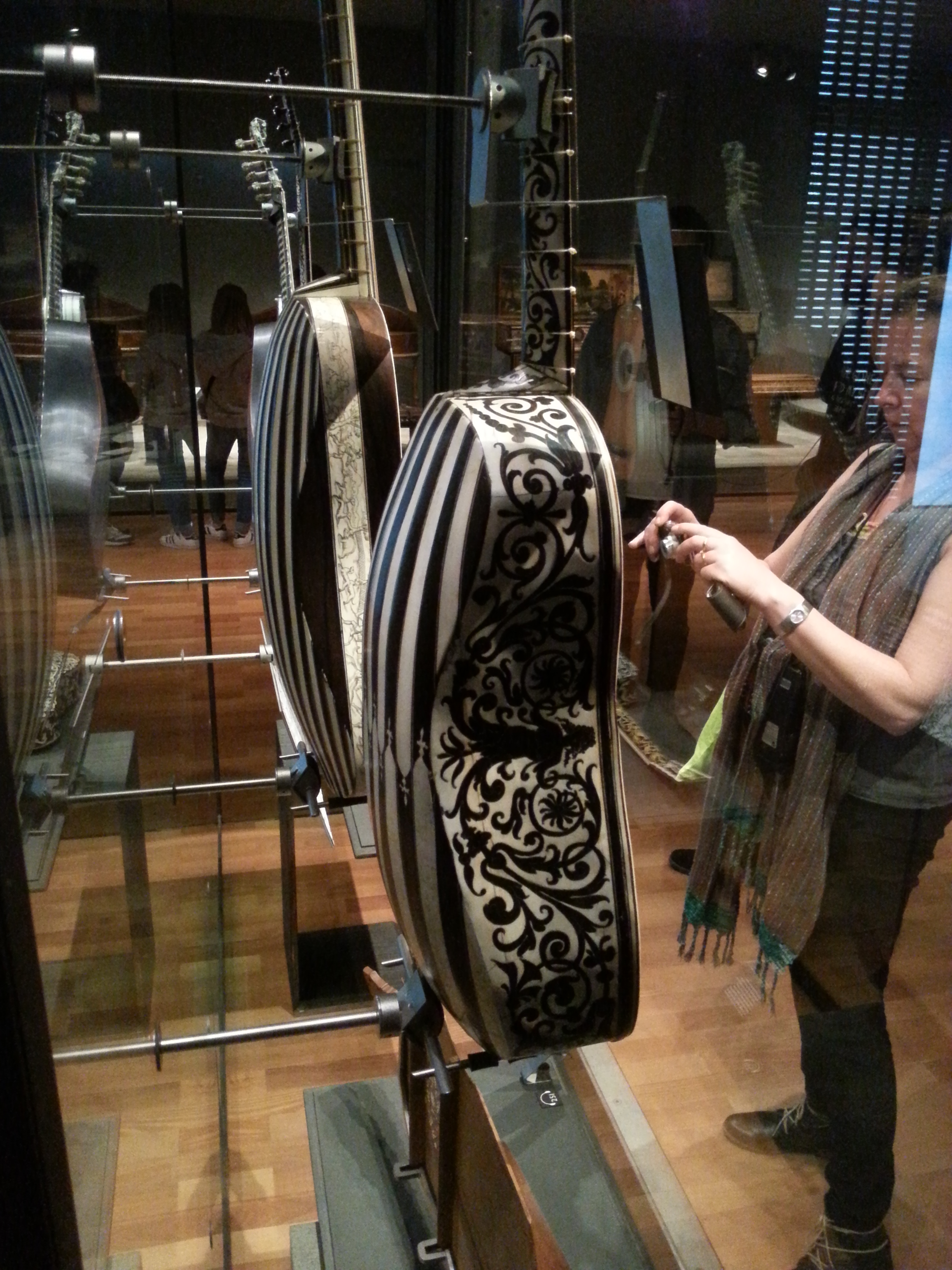 A very impressive Baroque guitar. That's some inlay work!