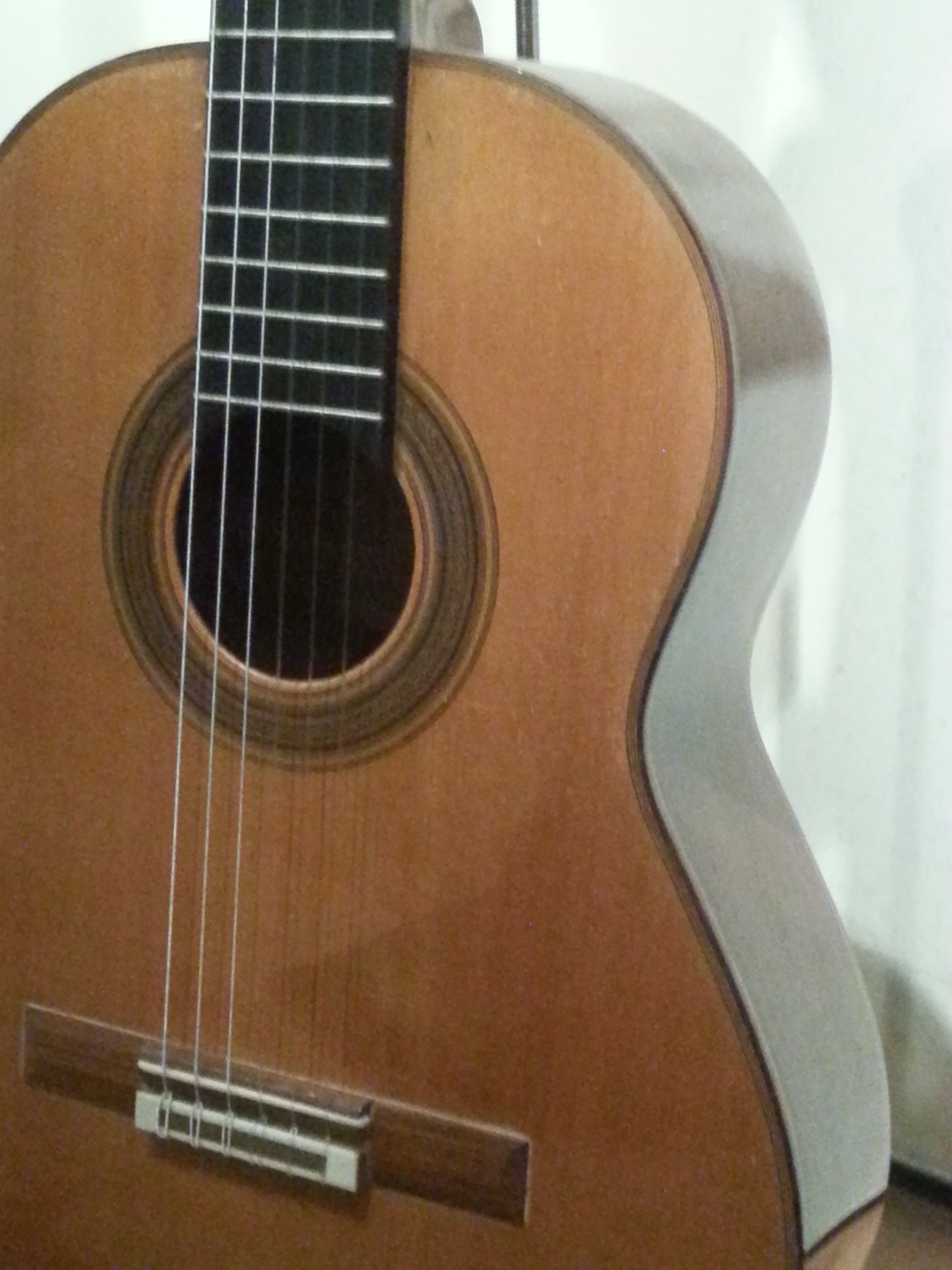 And a guitar made by Robert bouchet