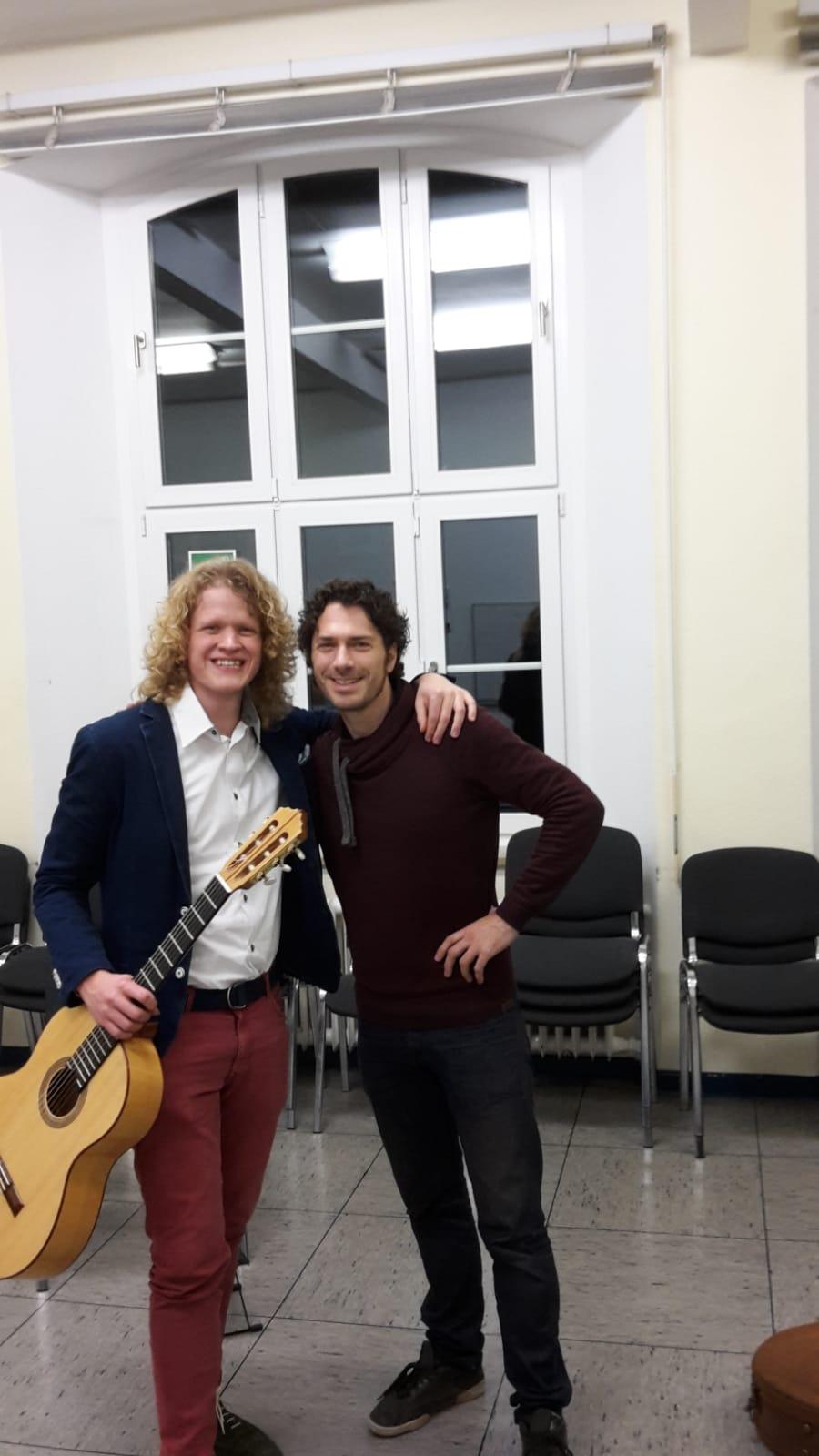 With dear friend Reentko Dirks.