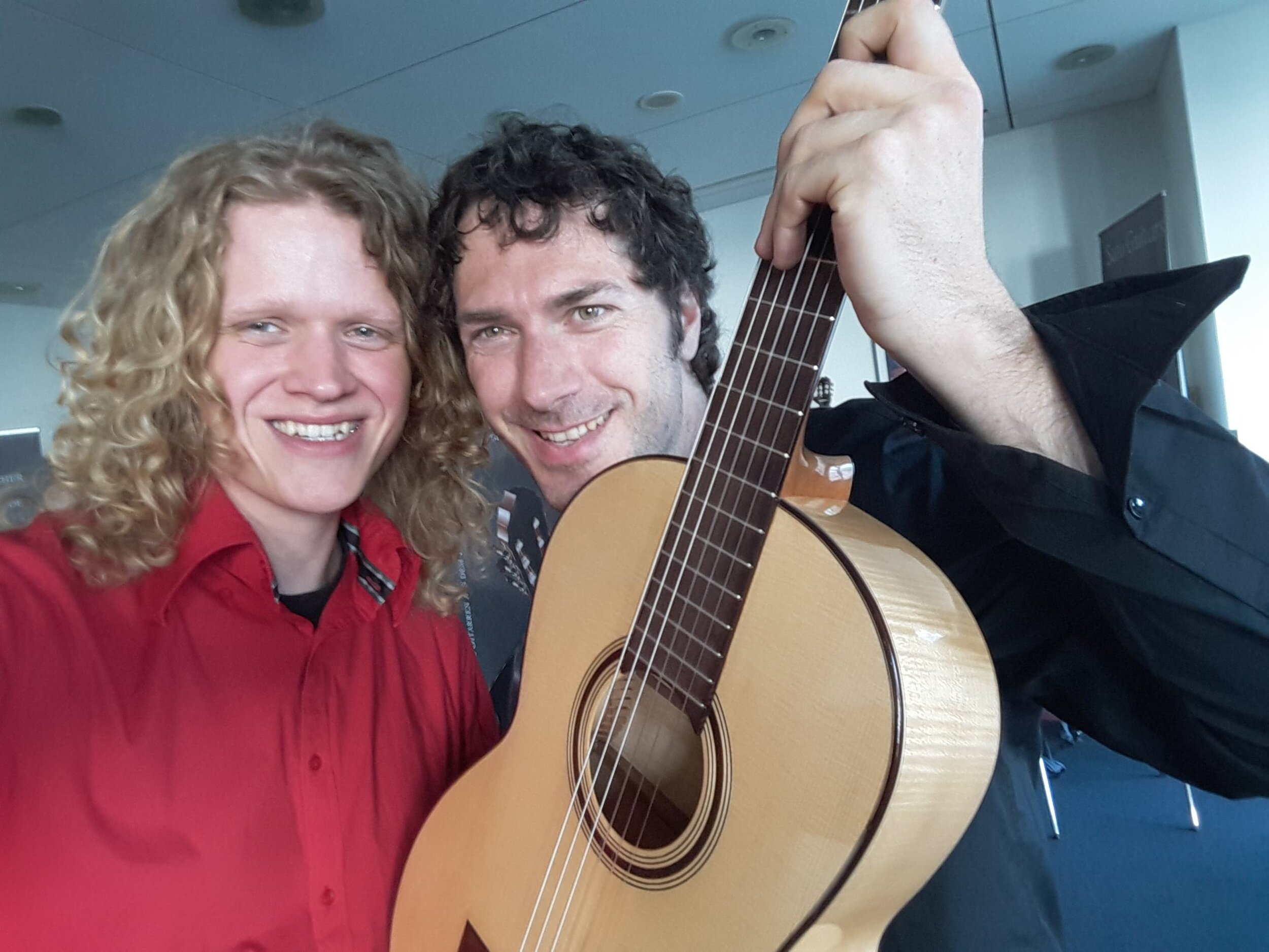 With dear friend Reentko Dirks. Heinsberg, Germany