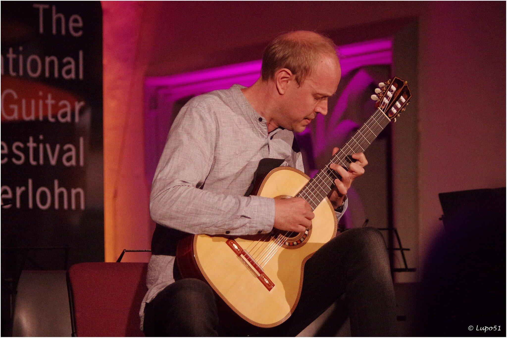 "Christian Fergo playing ""Ilona"" for the final concert night of the Iserlohn guitar festival 2019."