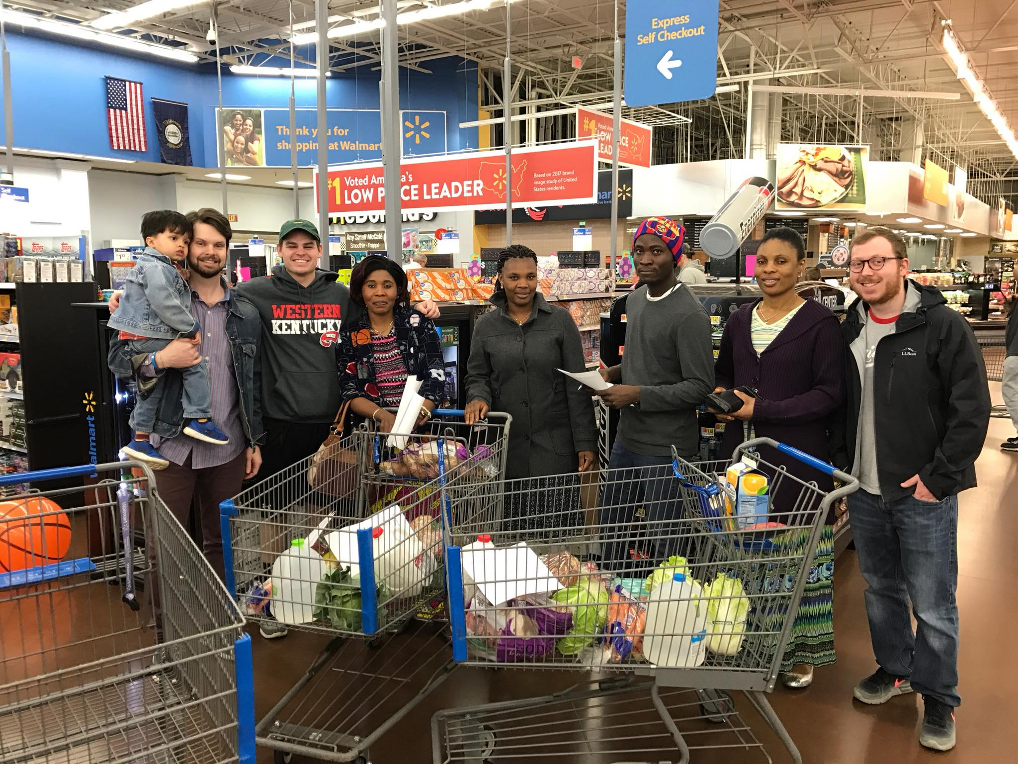 The last English class of the second session finished up on February 25 with a grocery store scavenger hunt. Classes will start again on March 18, and everyone is welcome!
