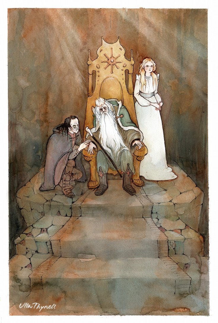 """""""The King of the Golden Hall"""" by ullakko on Deviant Art"""