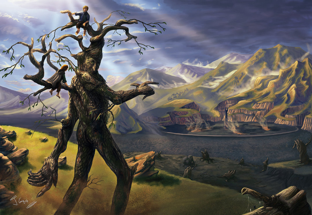 """""""Going to Isengard"""" by 1oshuart on Deviant Art"""