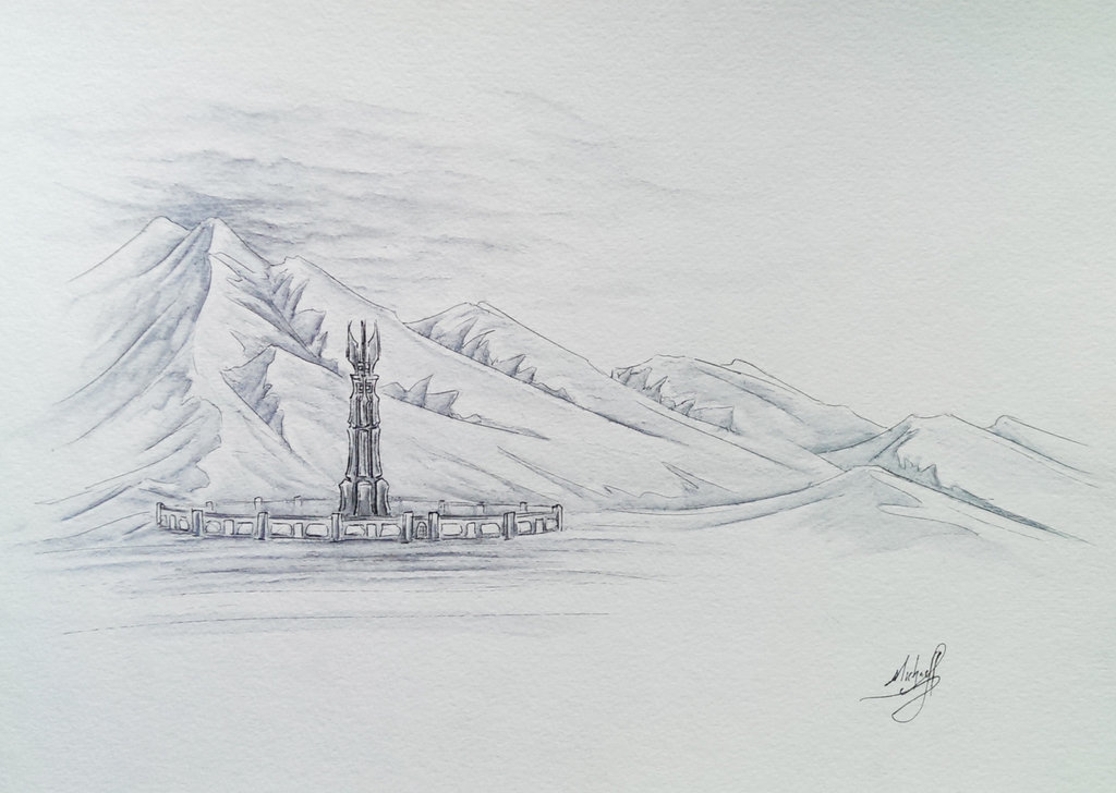 """""""Isengard"""" by OnlyChasing-Safety on Deviant Art"""